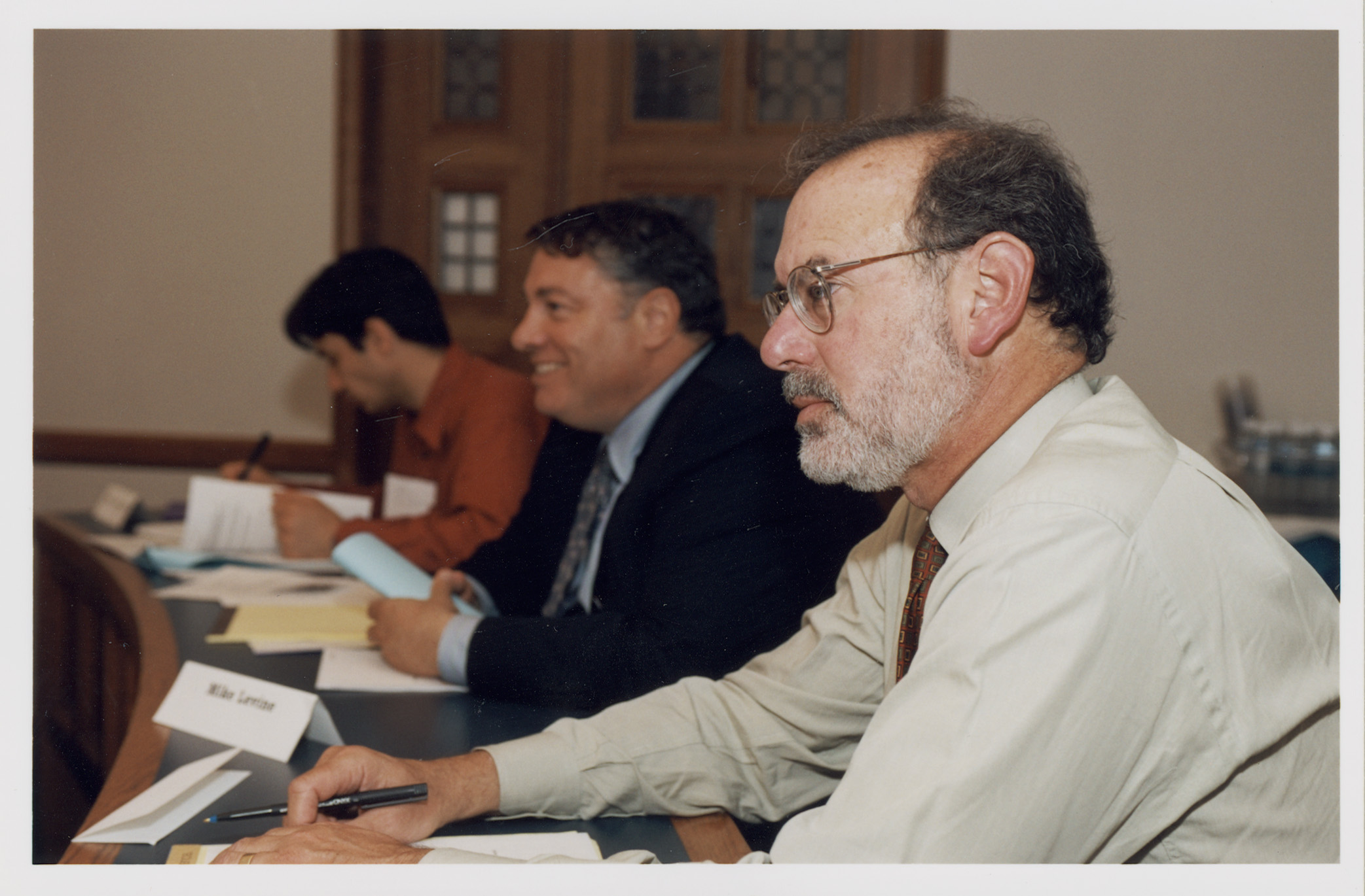 Harvard Law Adj. Prof. Michael Levine '65 and Stanford and Columbia Law Prof. Ronald Gilson '71