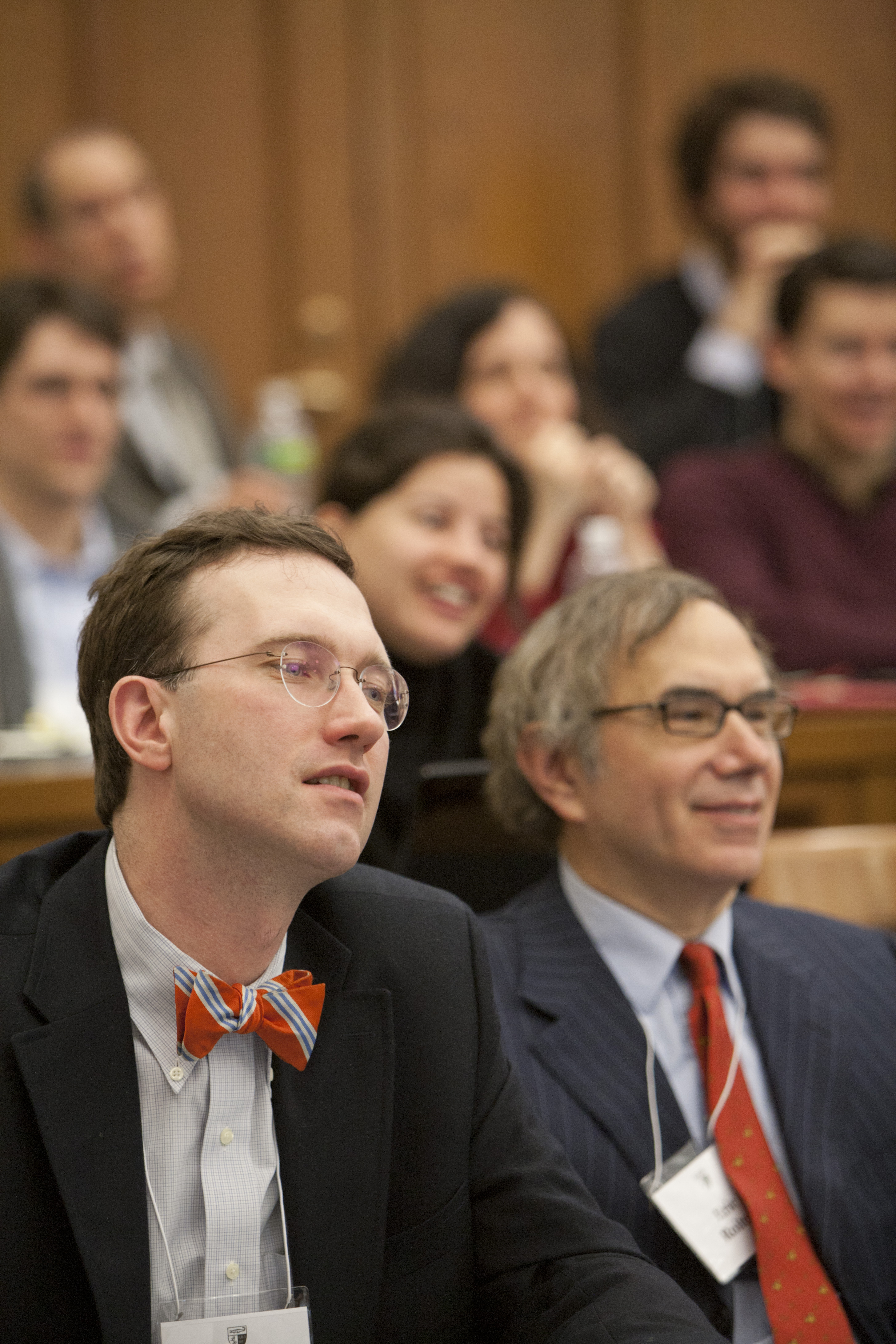 George Raine '99 and Boston U. Law Lecturer Eric Roiter