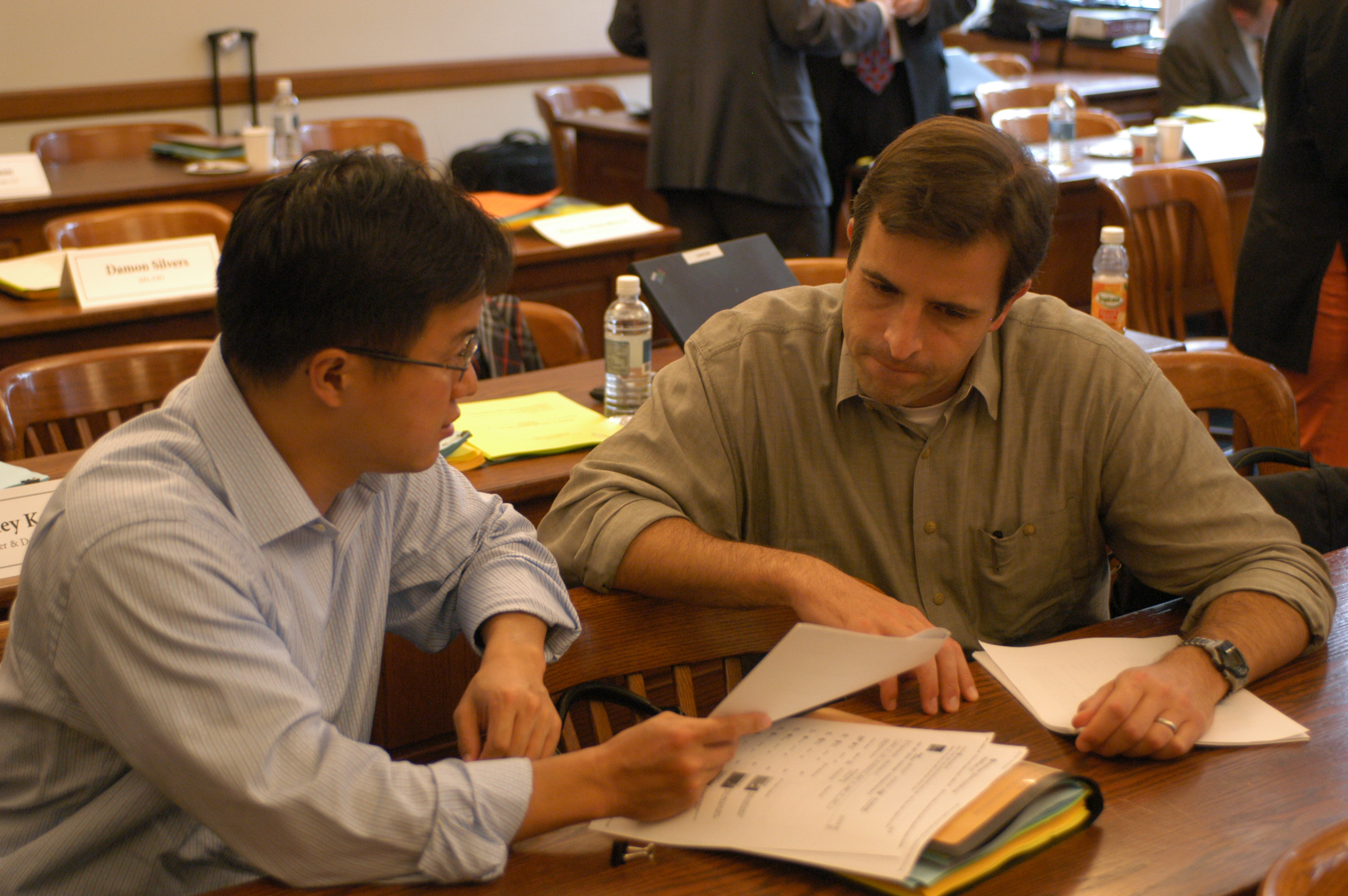 UVA Law Profs. Albert Choi '01 and George Triantis