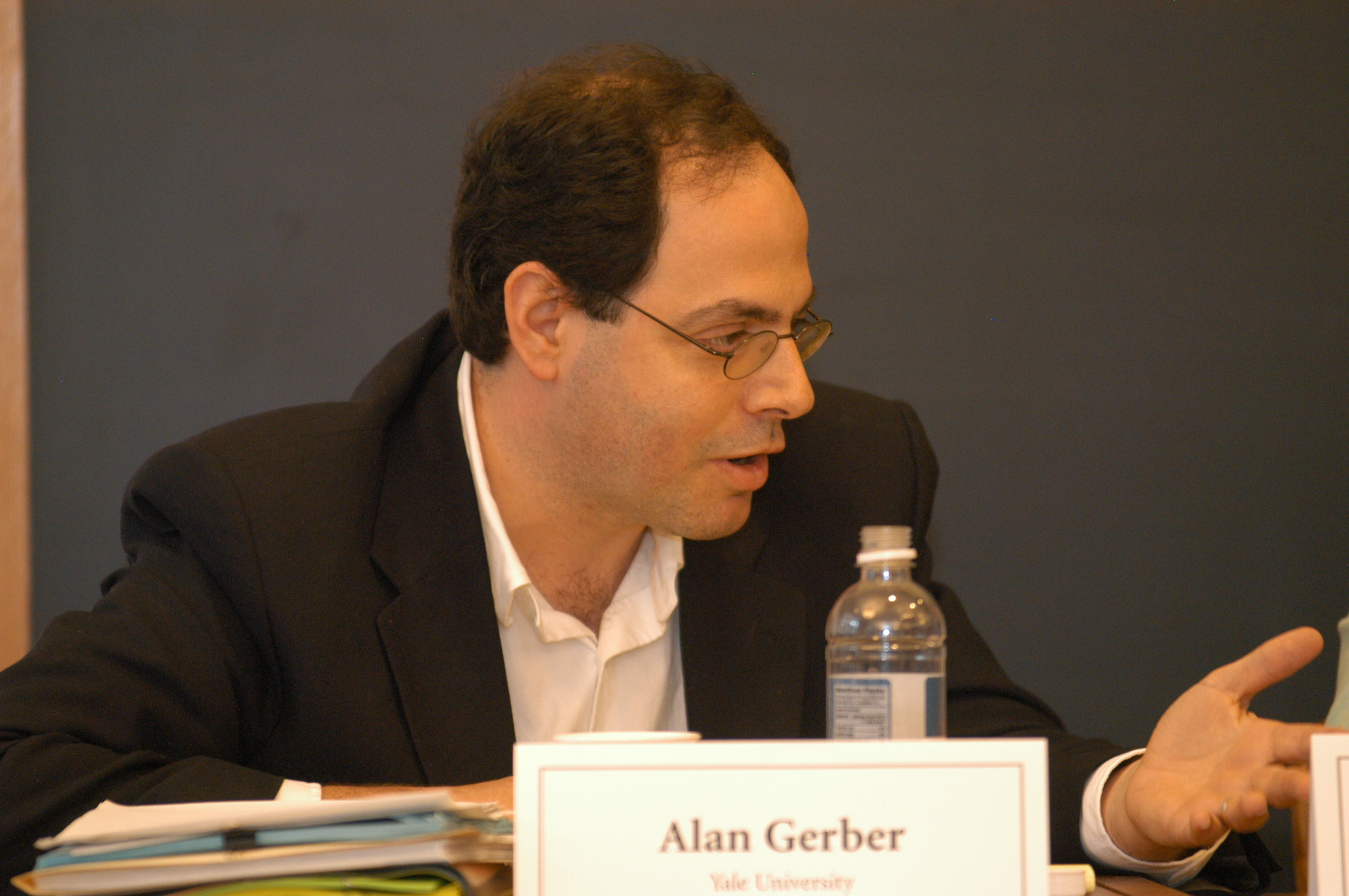 Yale Political Science Prof. Alan Gerber