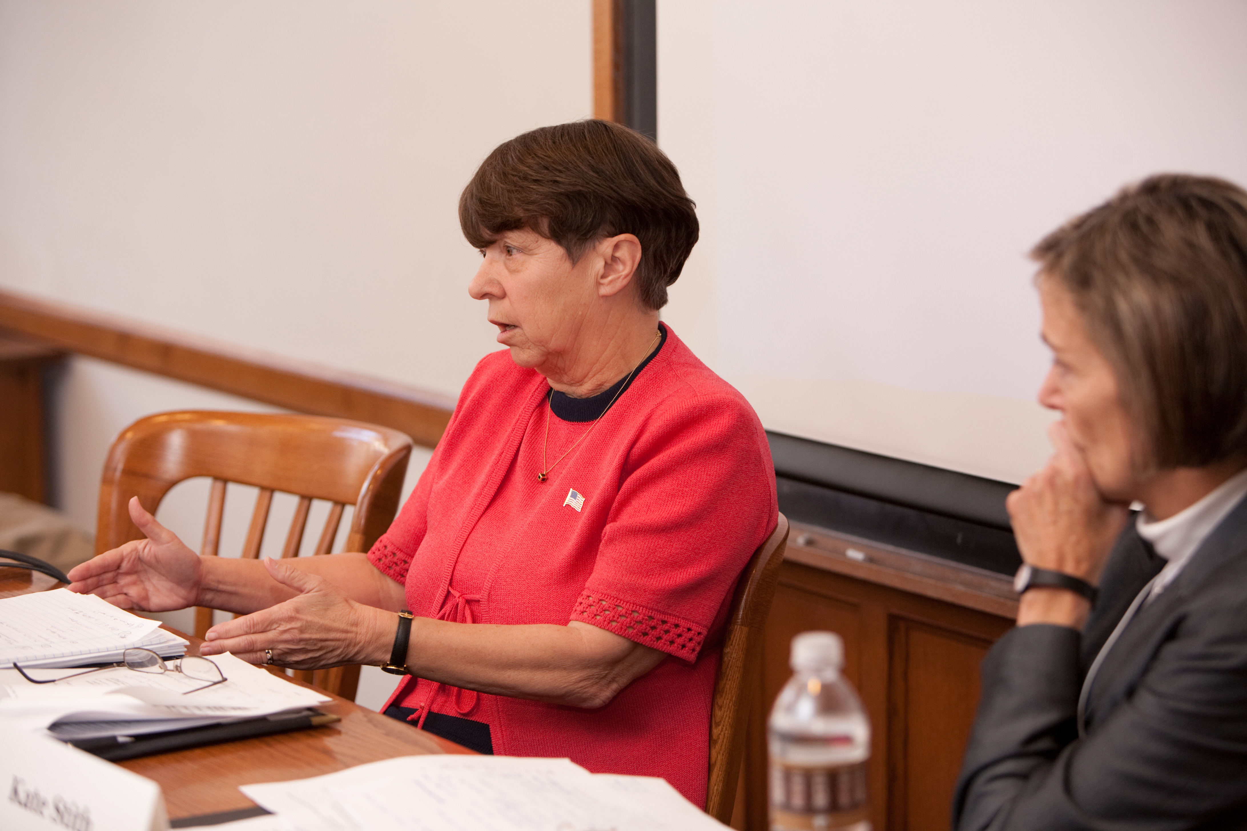 Mary Jo White and YLS Prof. Kate Stith
