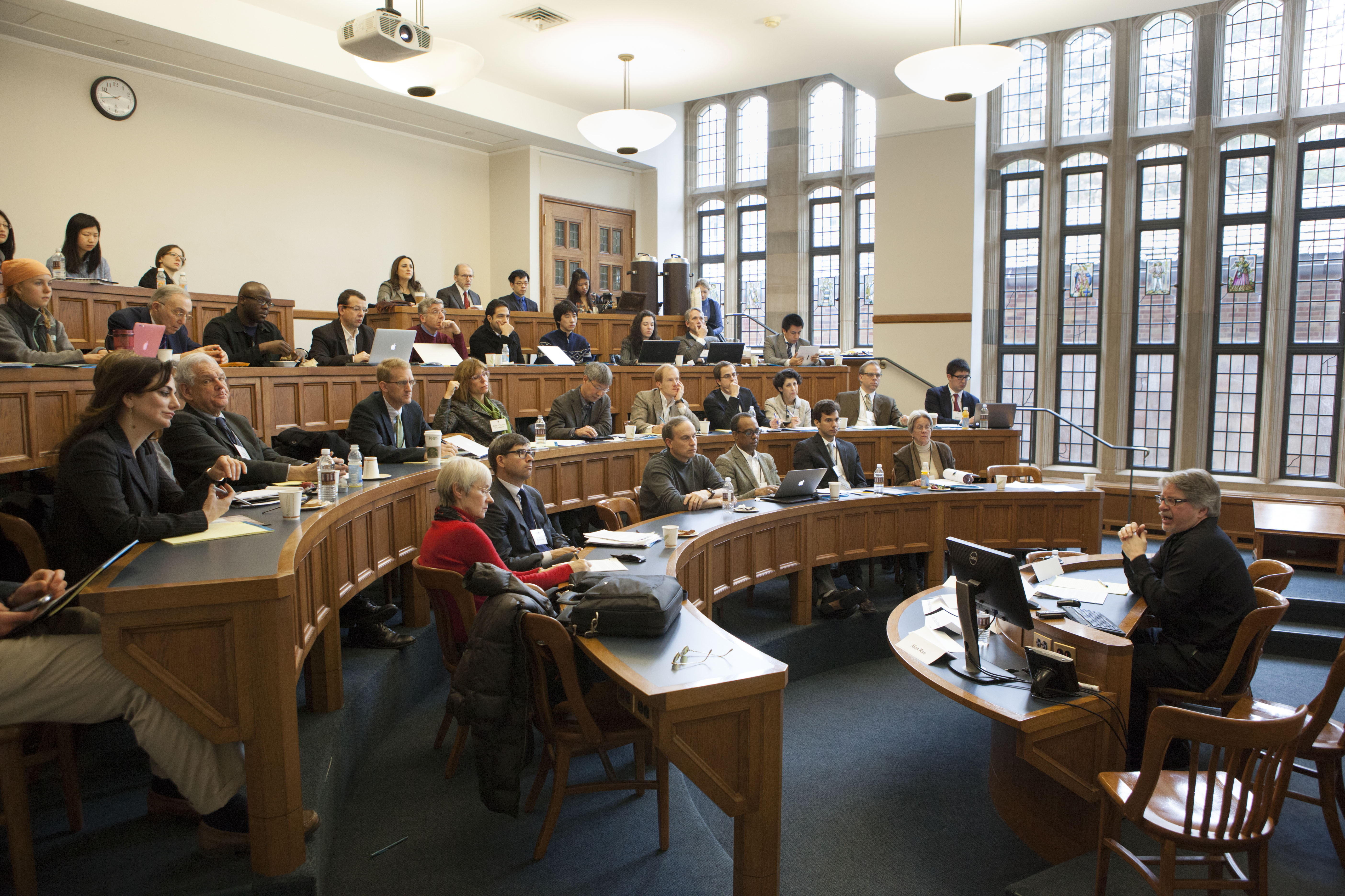 Audience at the 2013 Weil Roundtable
