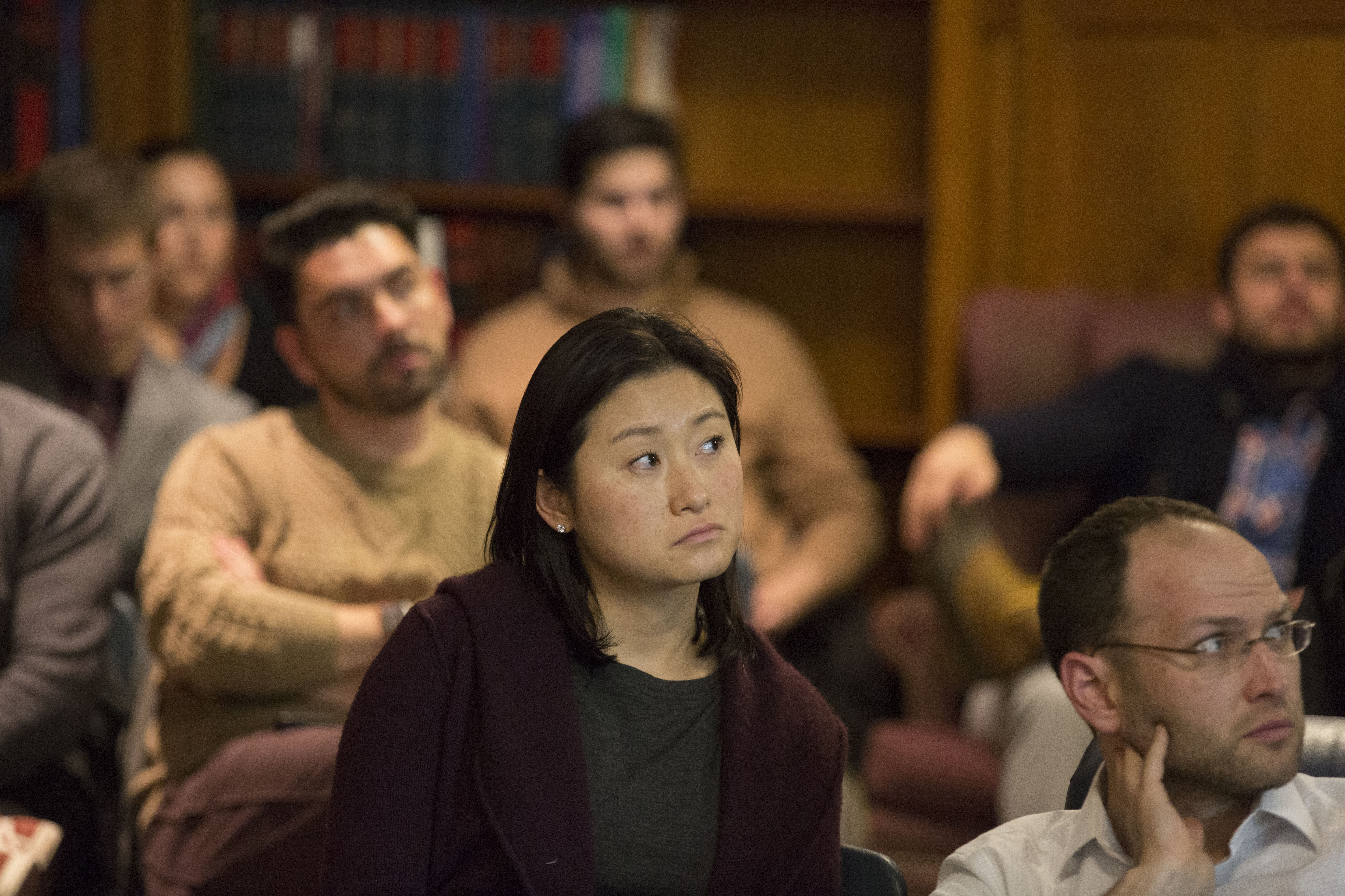Nancy Liao '05 and YLS Prof. Yair Listokin '05
