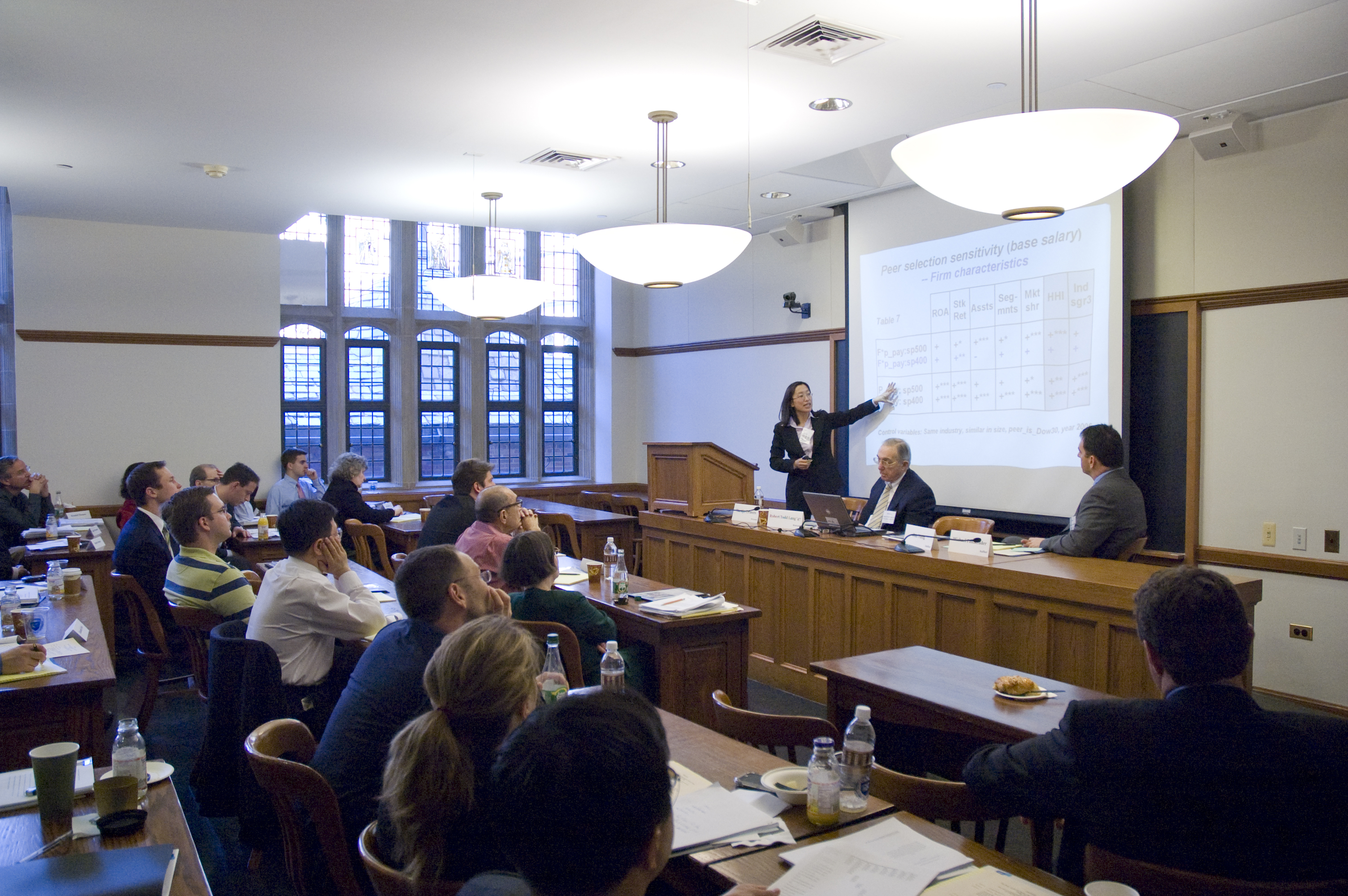 Audience at the 2008 Weil Roundtable
