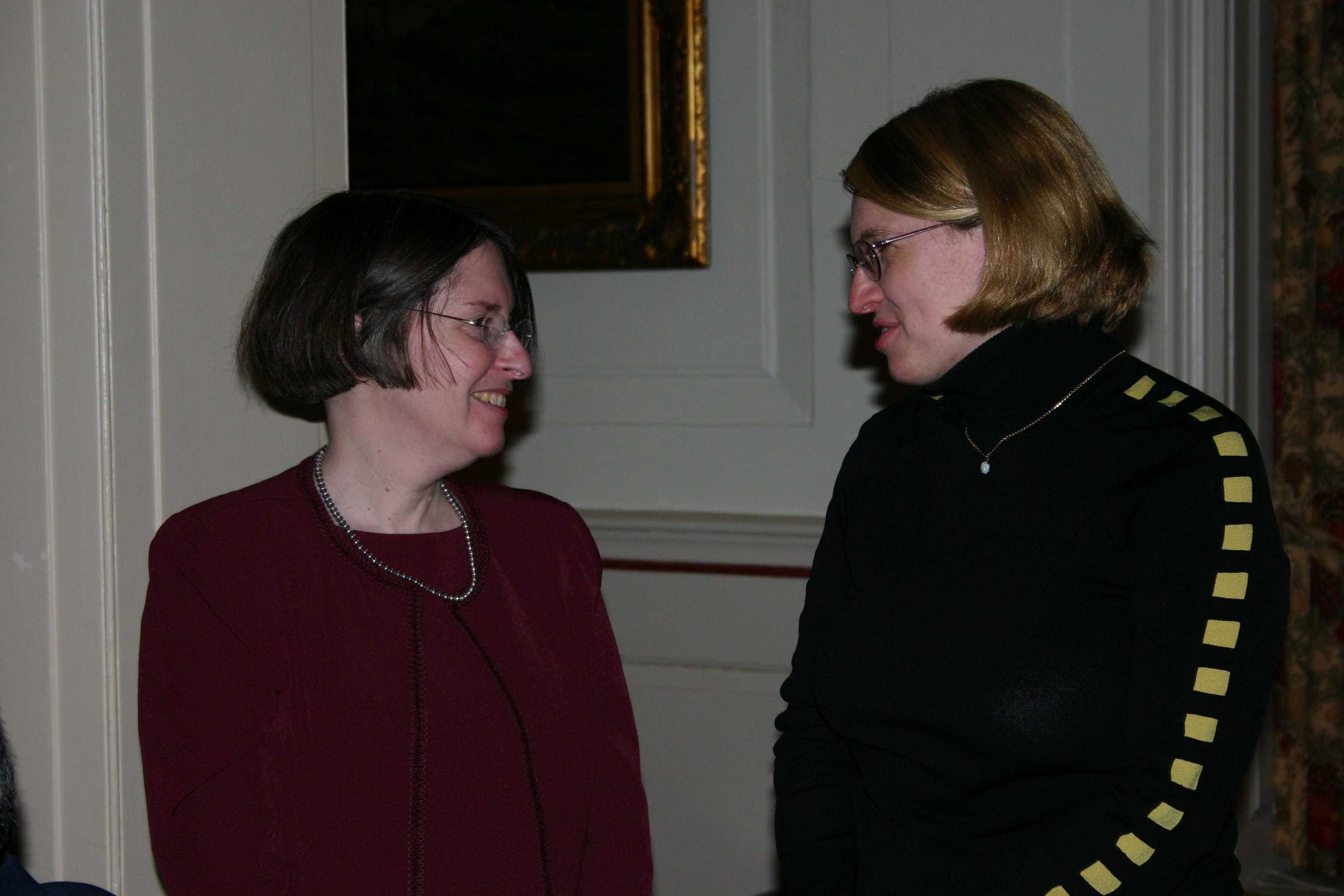 YLS Prof. and Center Dir. Roberta Romano '80 and Alison Gregory