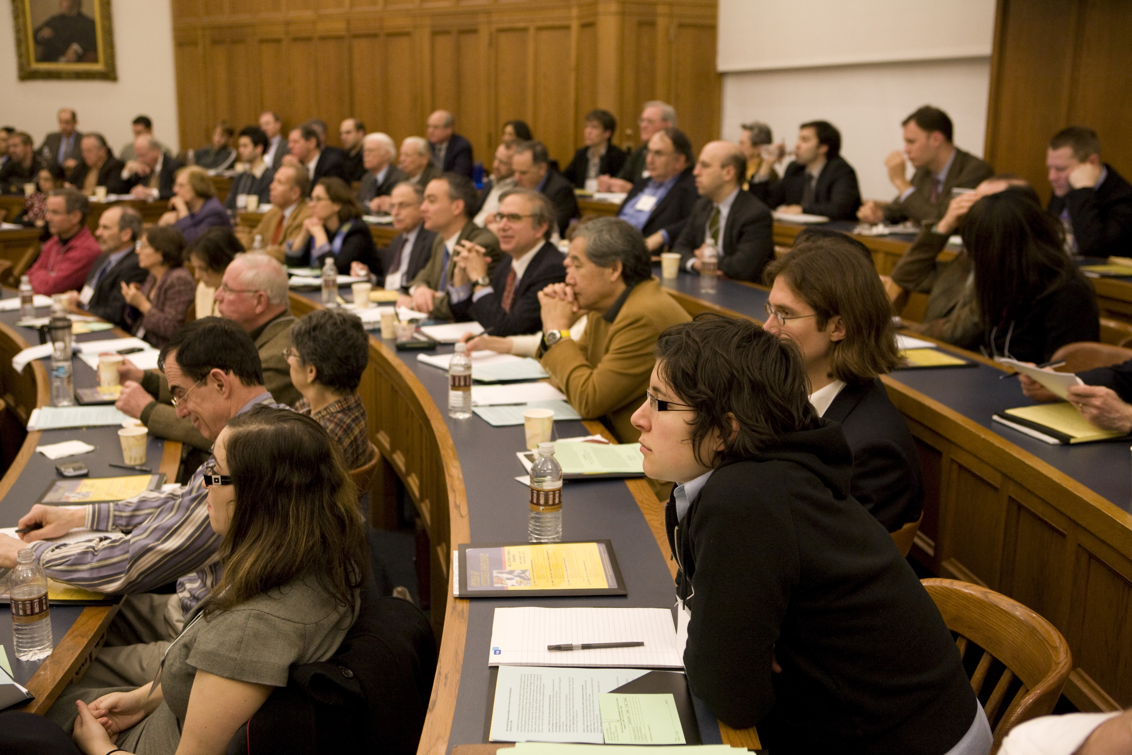 Audience at the 2009 Weil Roundtable