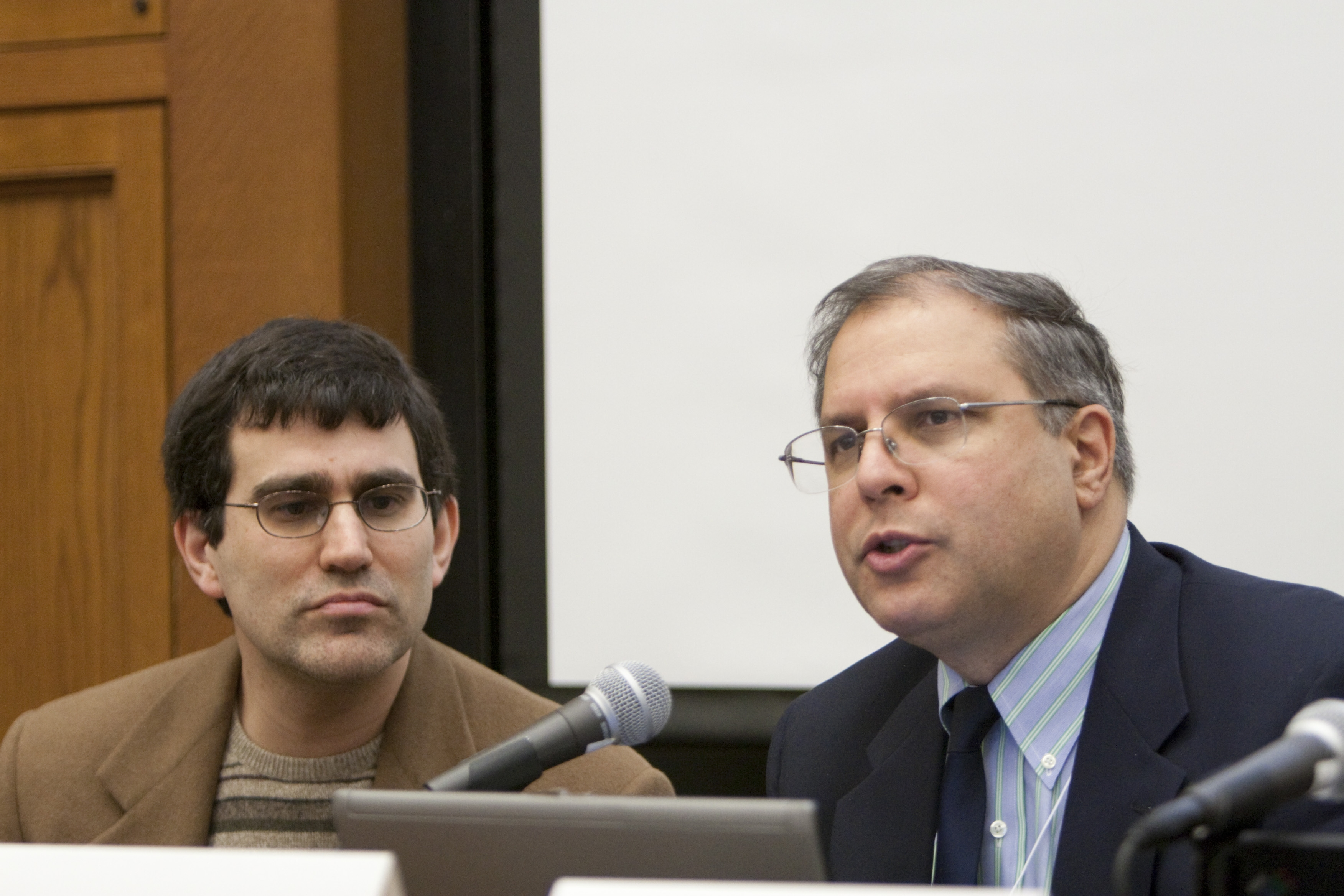 Yale SOM Prof. Andrew Metrick and Chicago Booth Prof. Anil Kashyap