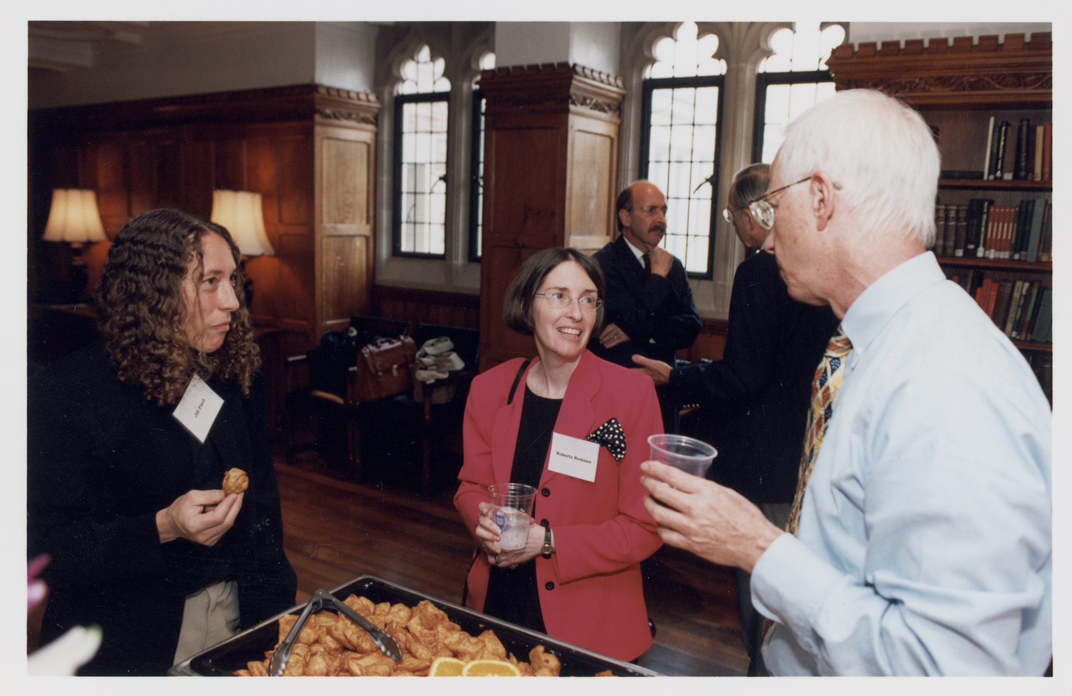 Fordham Law Prof. Jill Fisch '85, YLS Prof. and Center Dir. Roberta Romano '80, and YLS Prof. Alan Schwartz '64