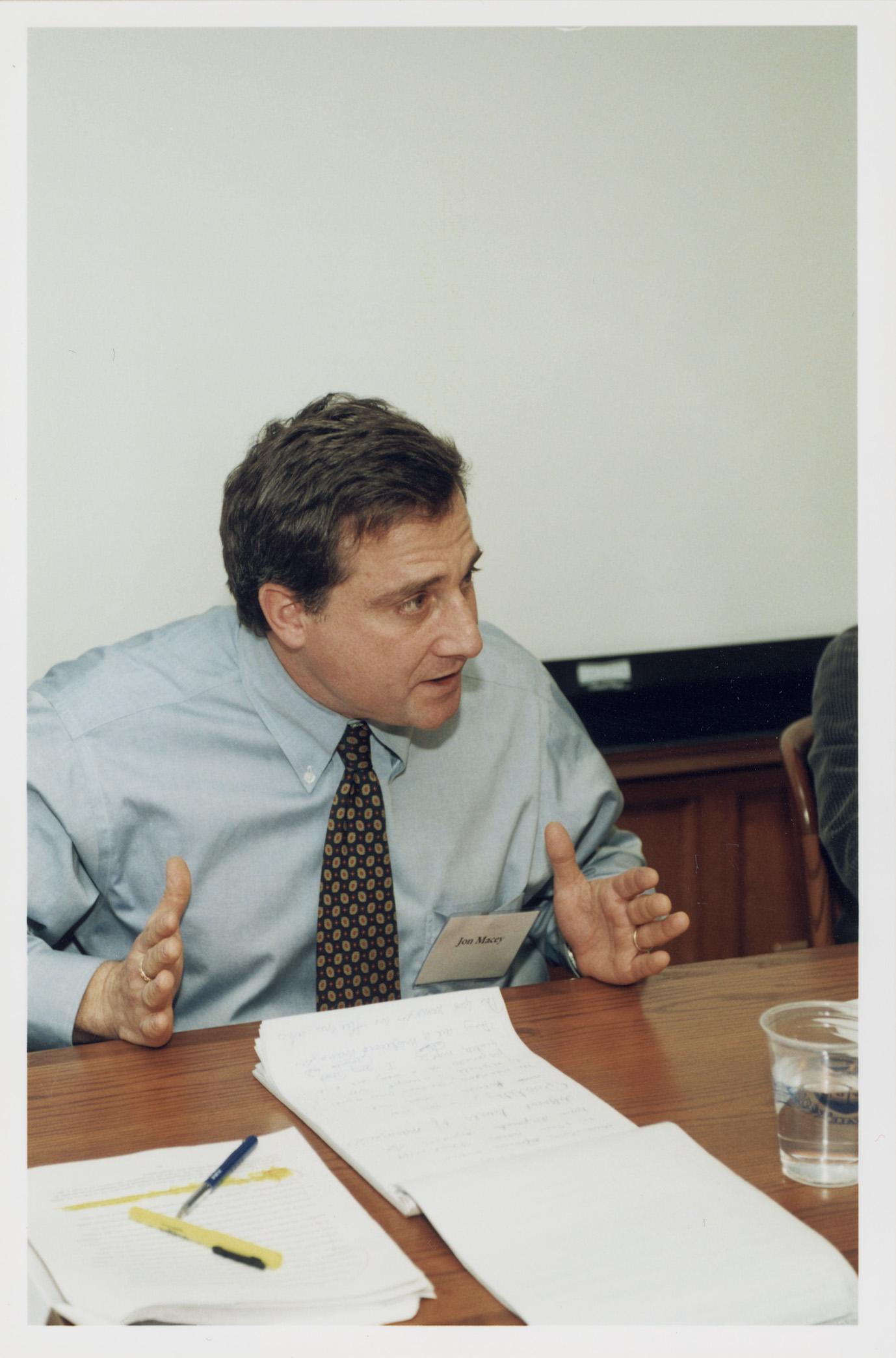 Cornell Law Prof. Jonathan Macey '82