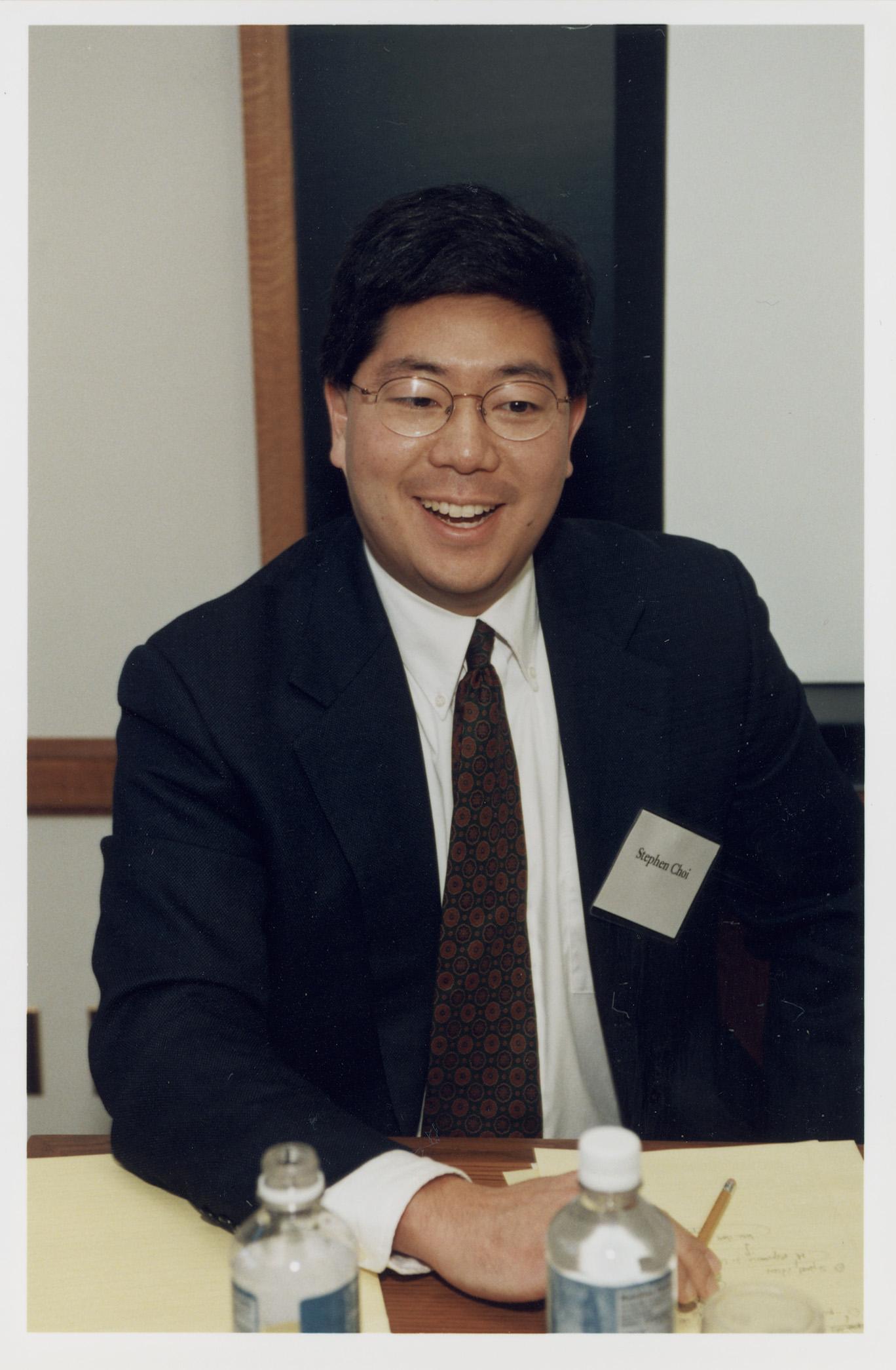 Berkeley Law Prof. Stephen Choi