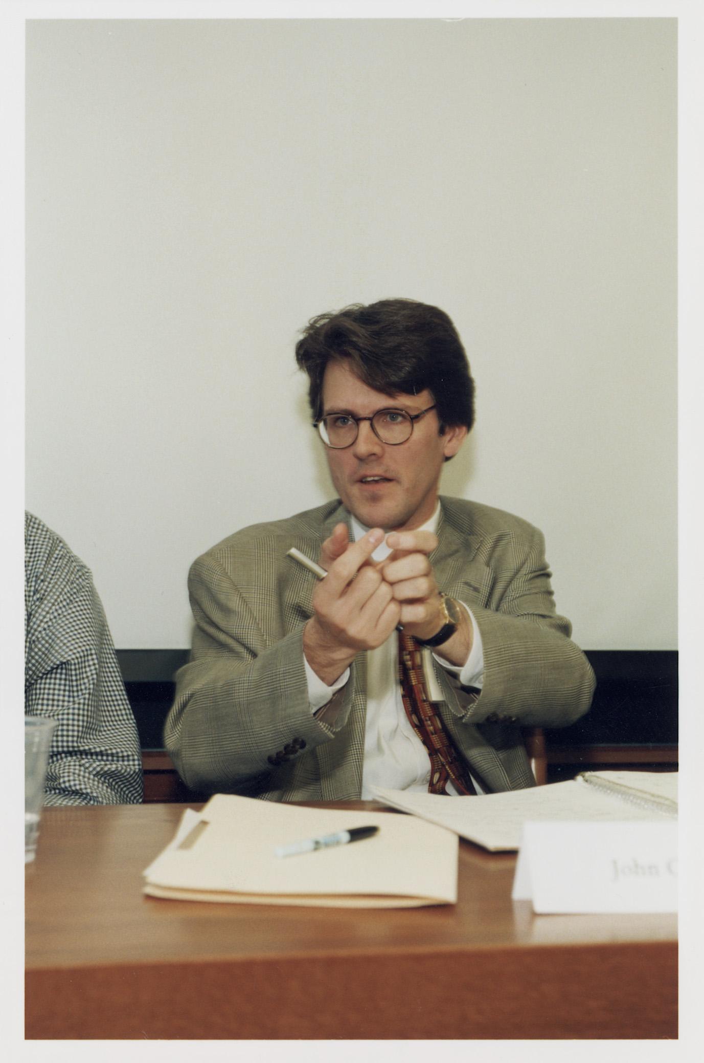 Harvard Law Prof. John Coates