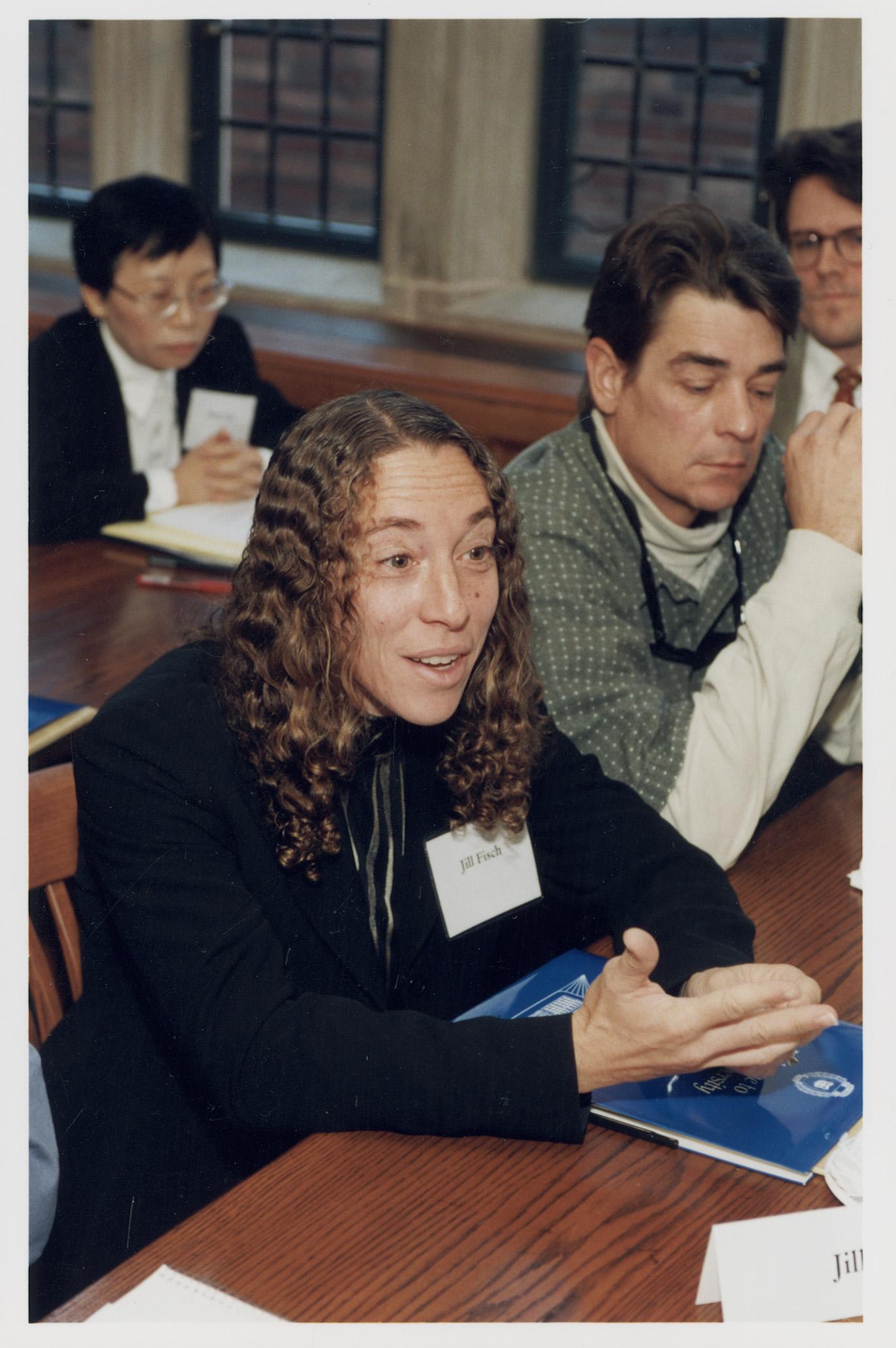 Fordham Law Prof. Jill Fisch '85