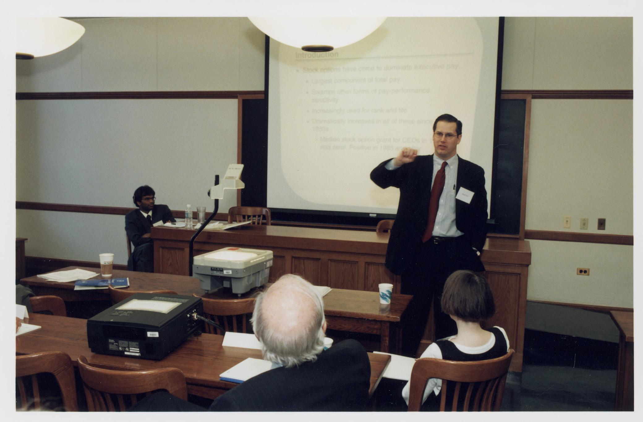 MIT Econ. Prof. Sendhil Mullainathan and Harvard Business Prof. Brian Hall