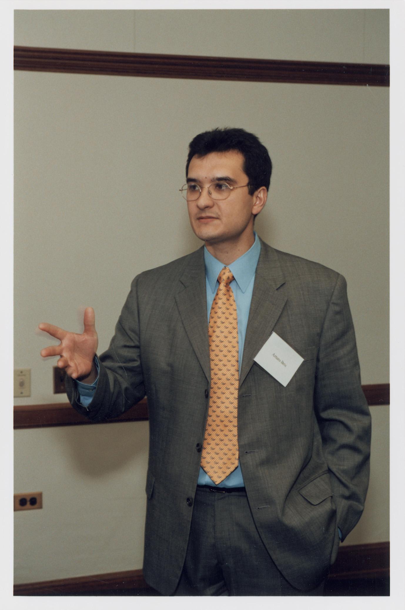 Yale SOM Prof. Arturo Bris