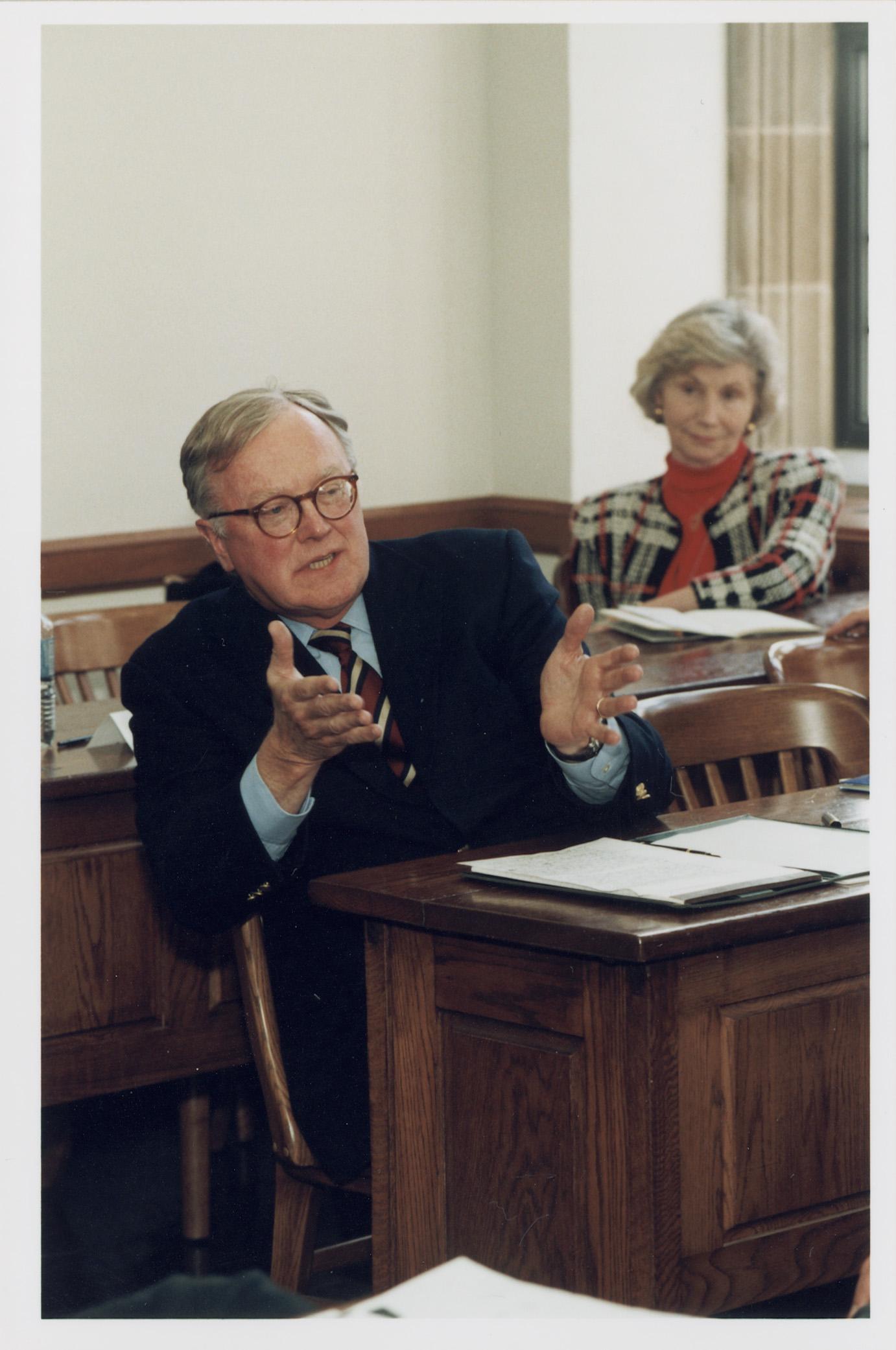 Yale SOM Prof. Paul MacAvoy