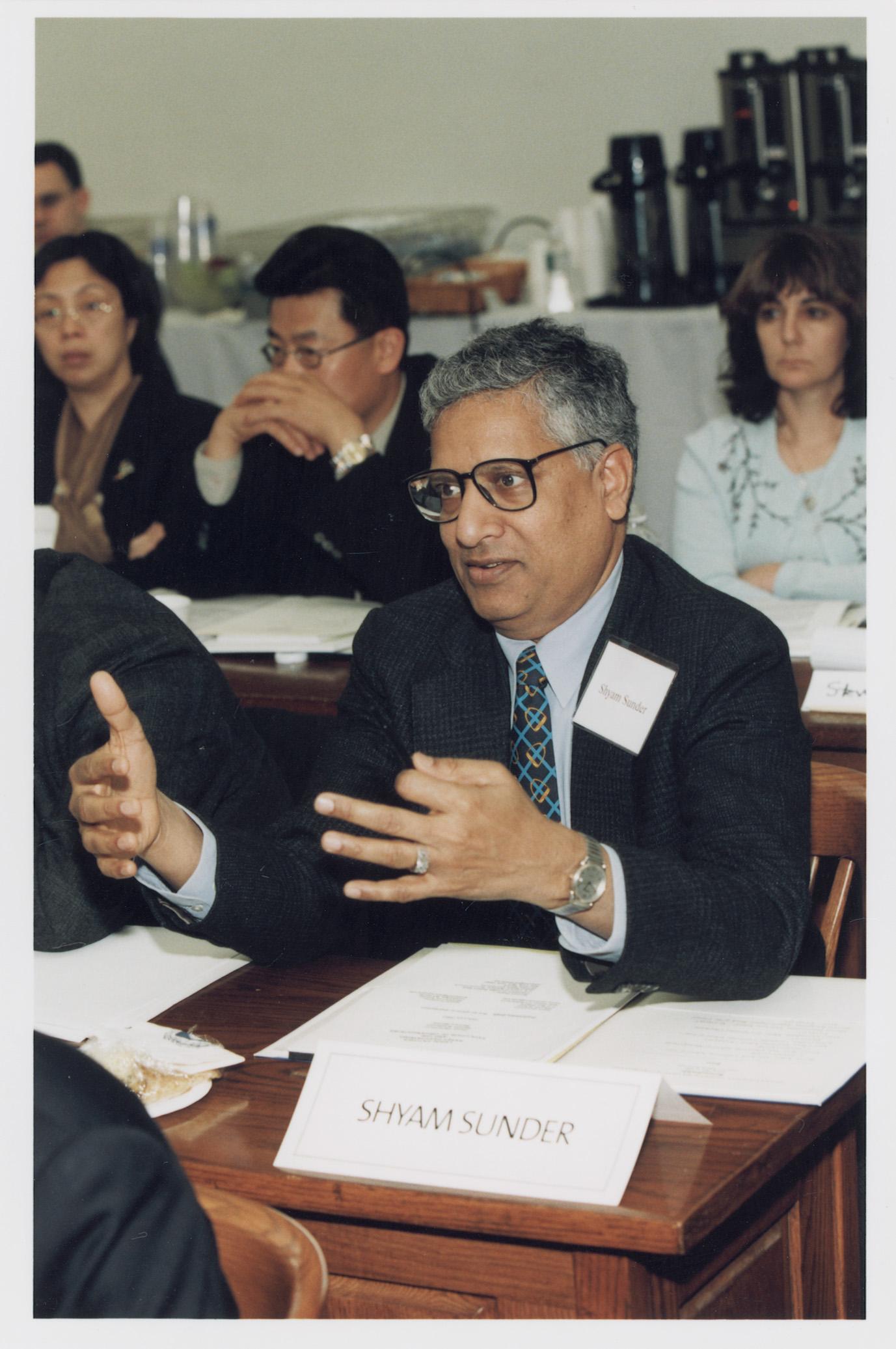 Yale SOM Prof. Shyam Sunder