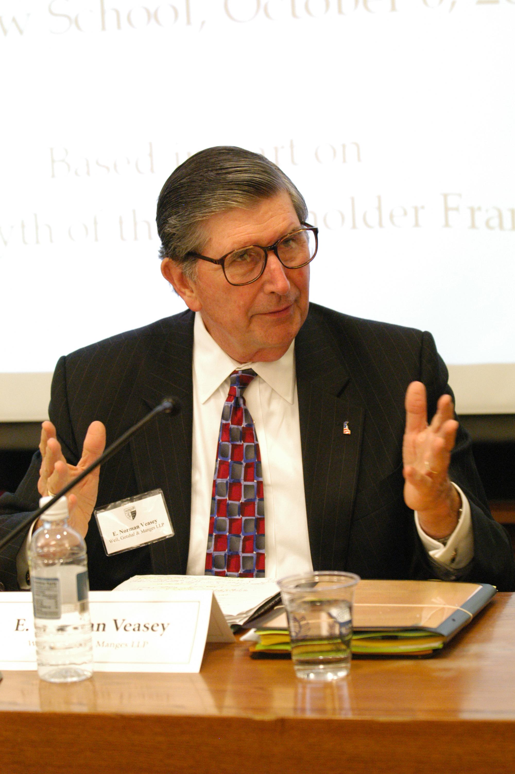 Hon. E. Norman Veasey