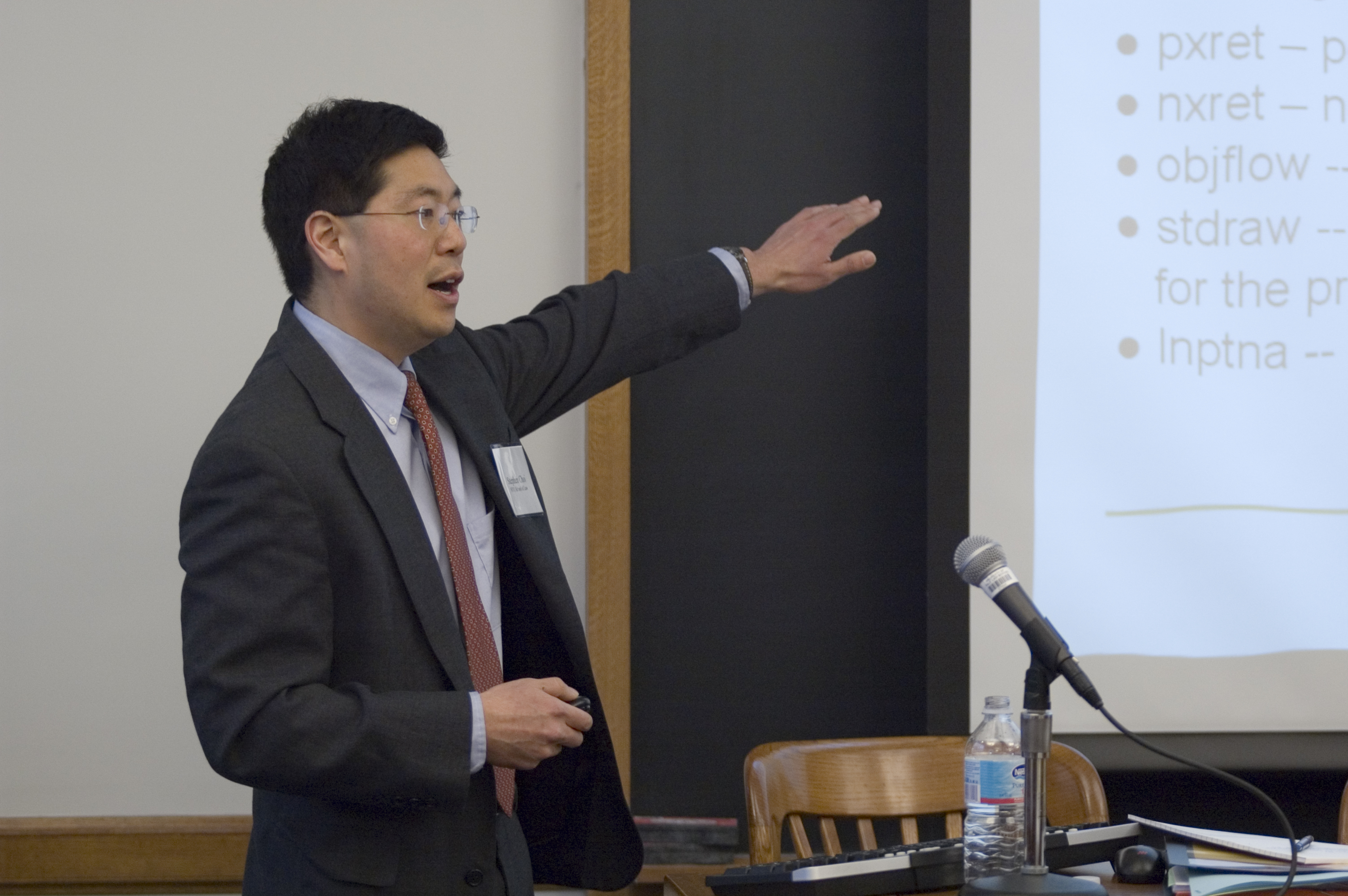 NYU Law Prof. Steven Choi