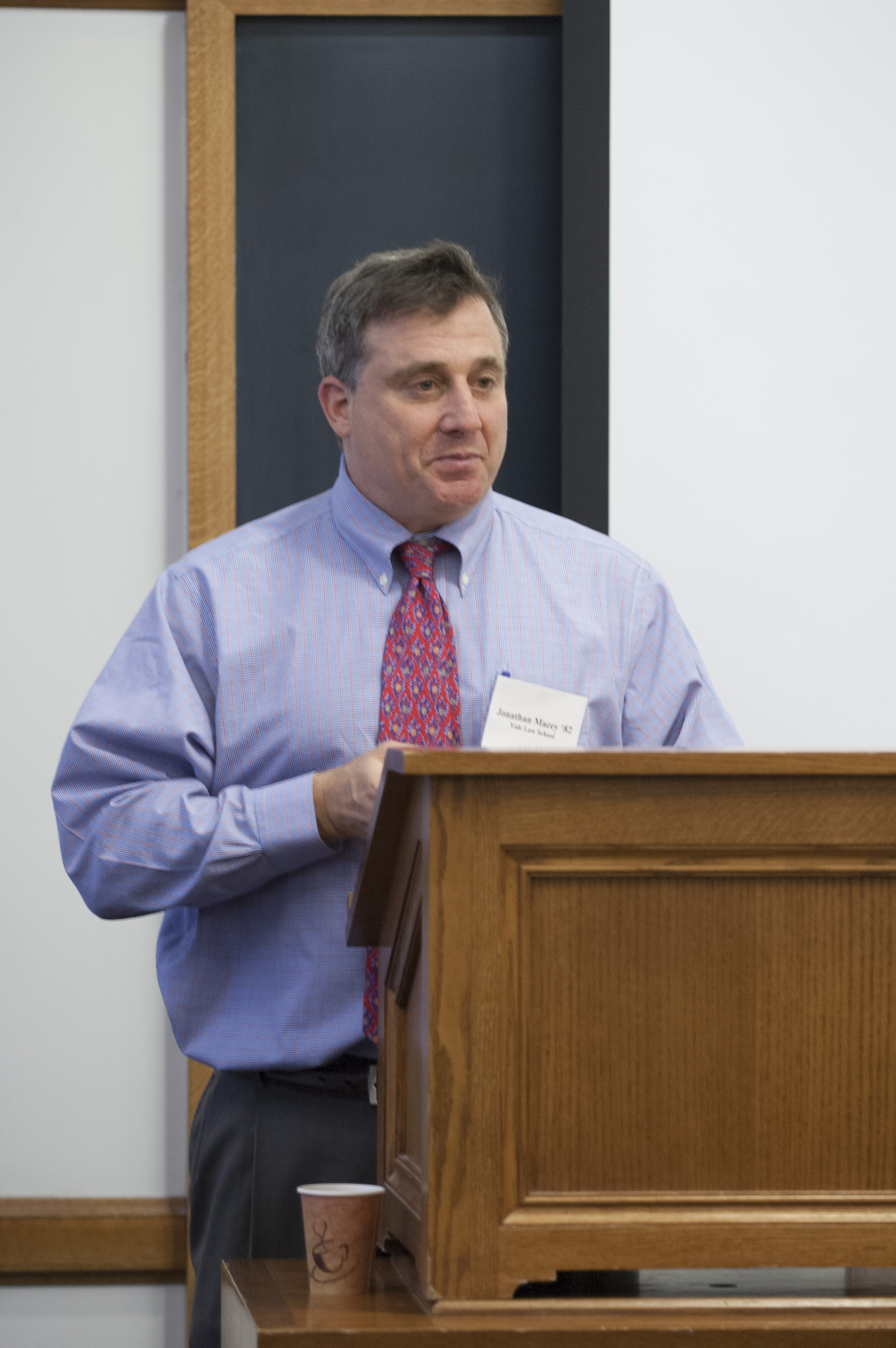 YLS Prof. Jonathan Macey '82