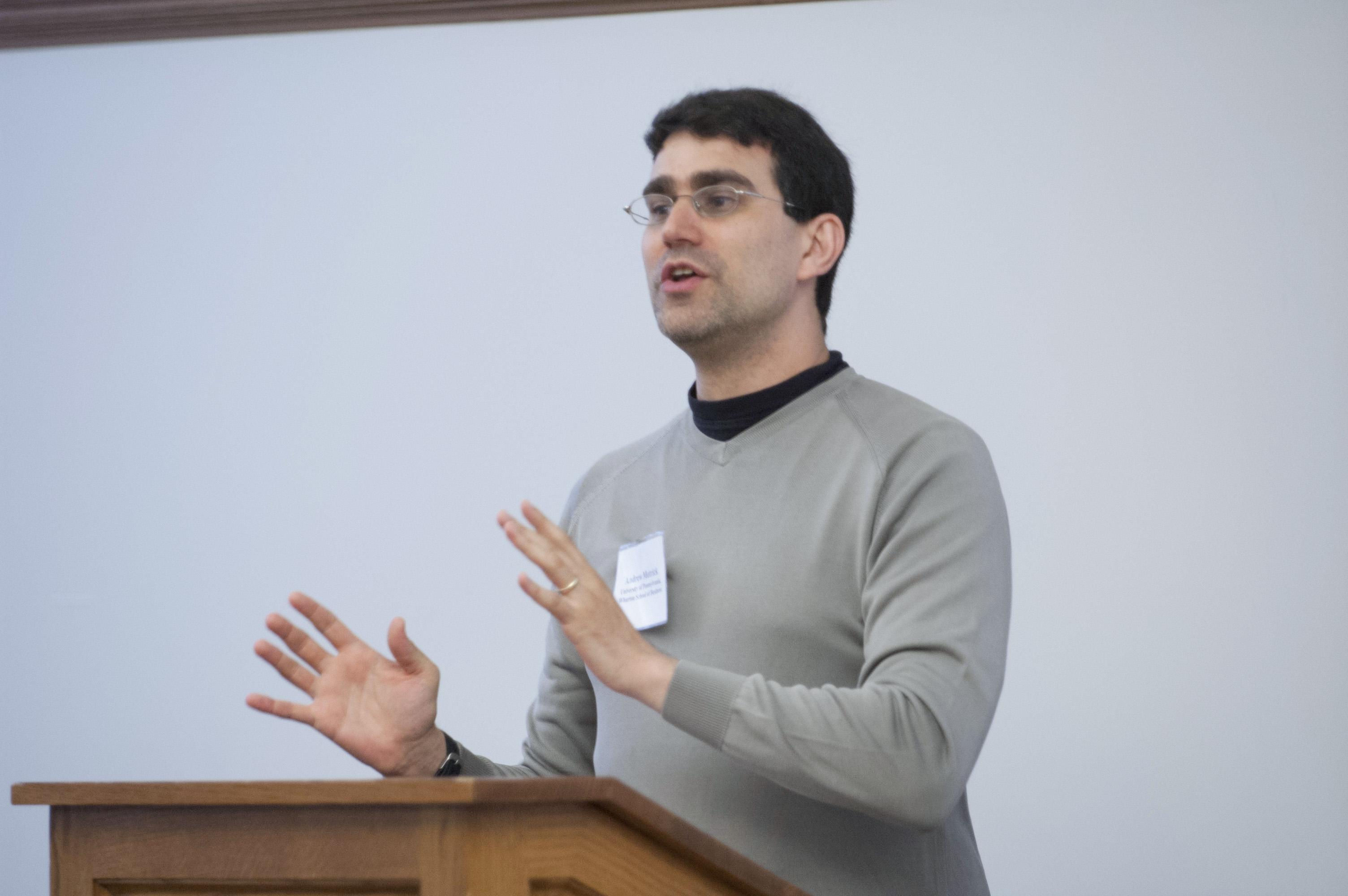 Yale SOM Prof. Andrew Metrick