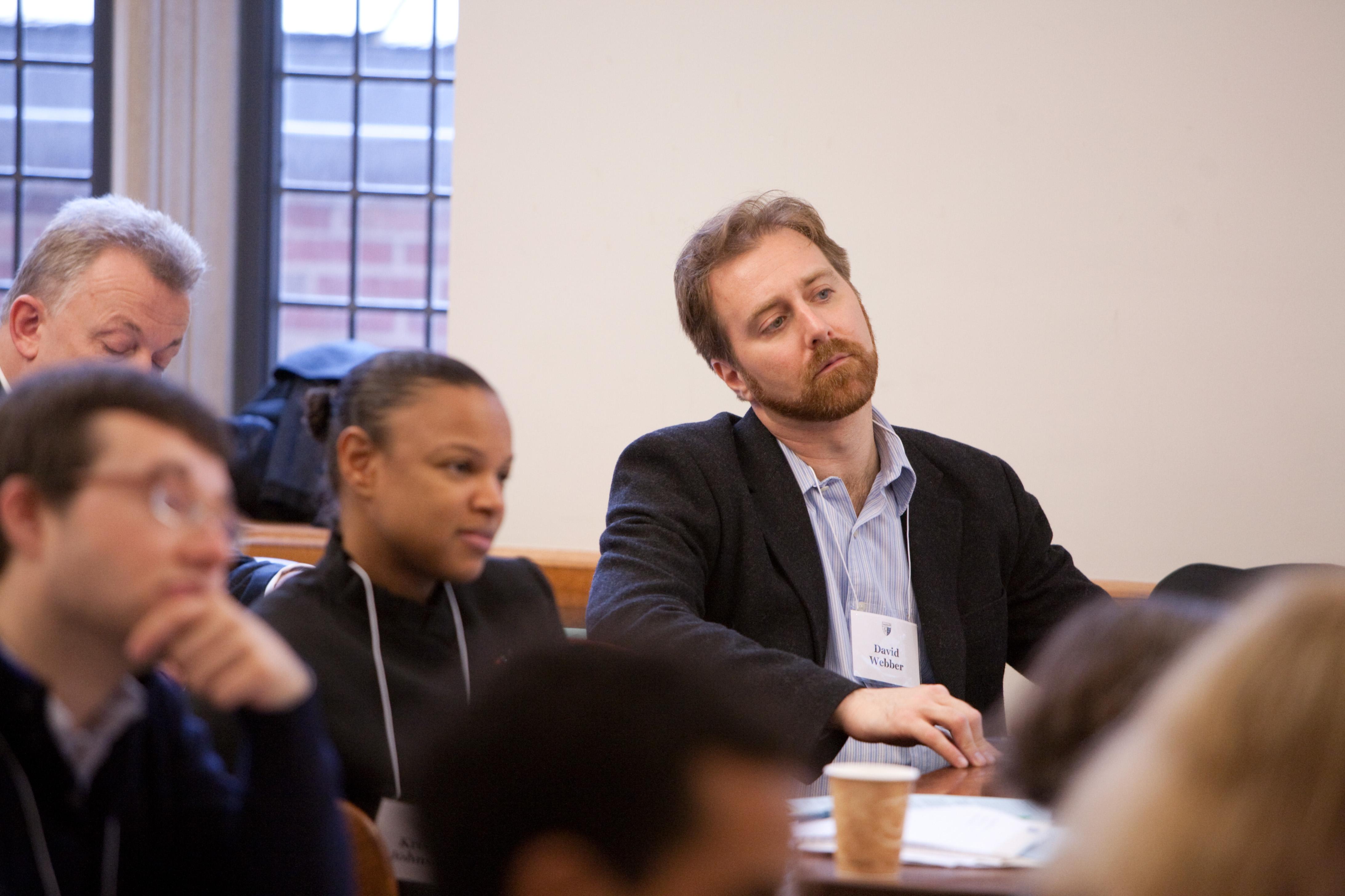 Seton Hall Law Prof. Kristin Johnson and Boston U. Law Prof. David Webber