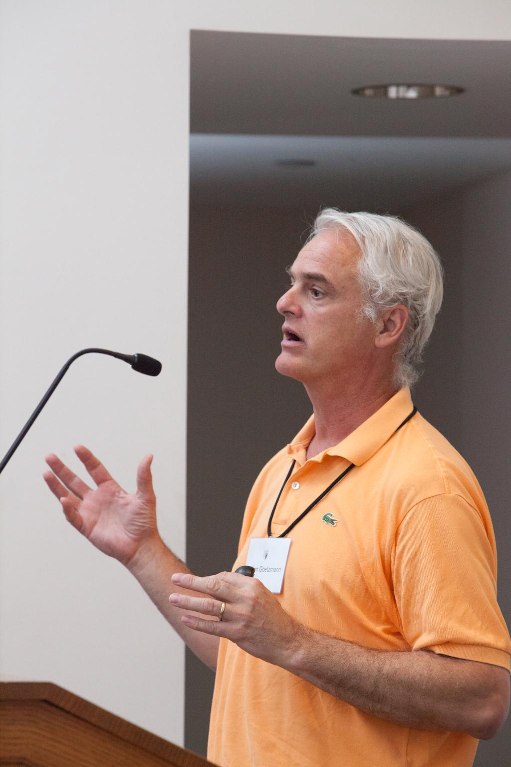 Yale SOM Prof. William Goetzmann