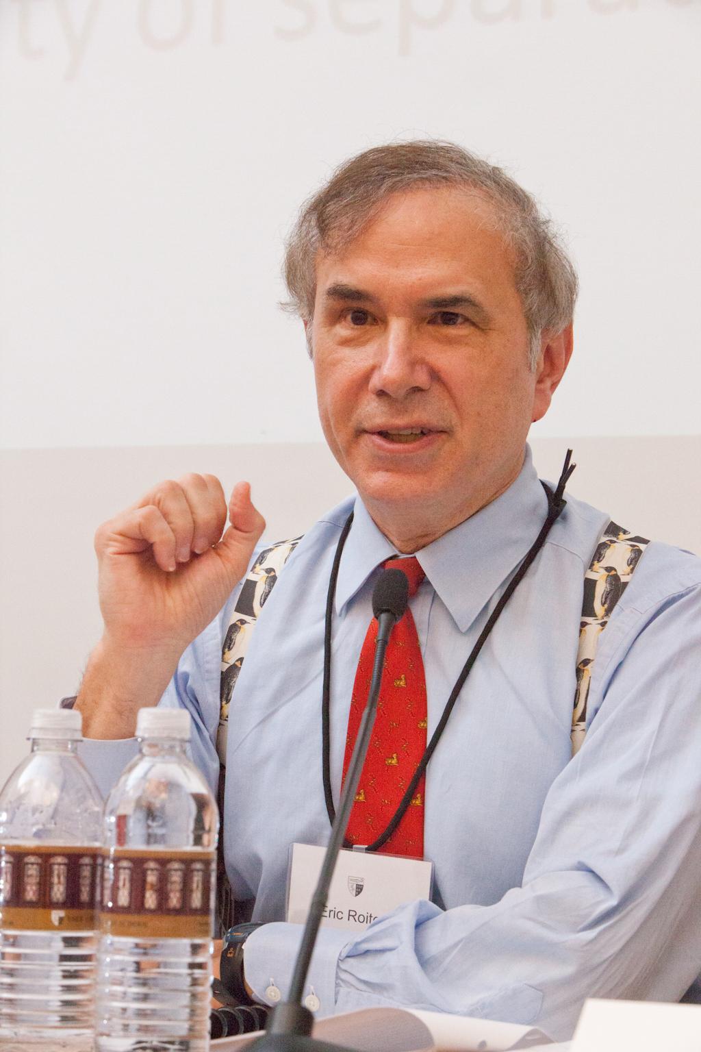 Boston U. Law Lecturer Eric Roiter