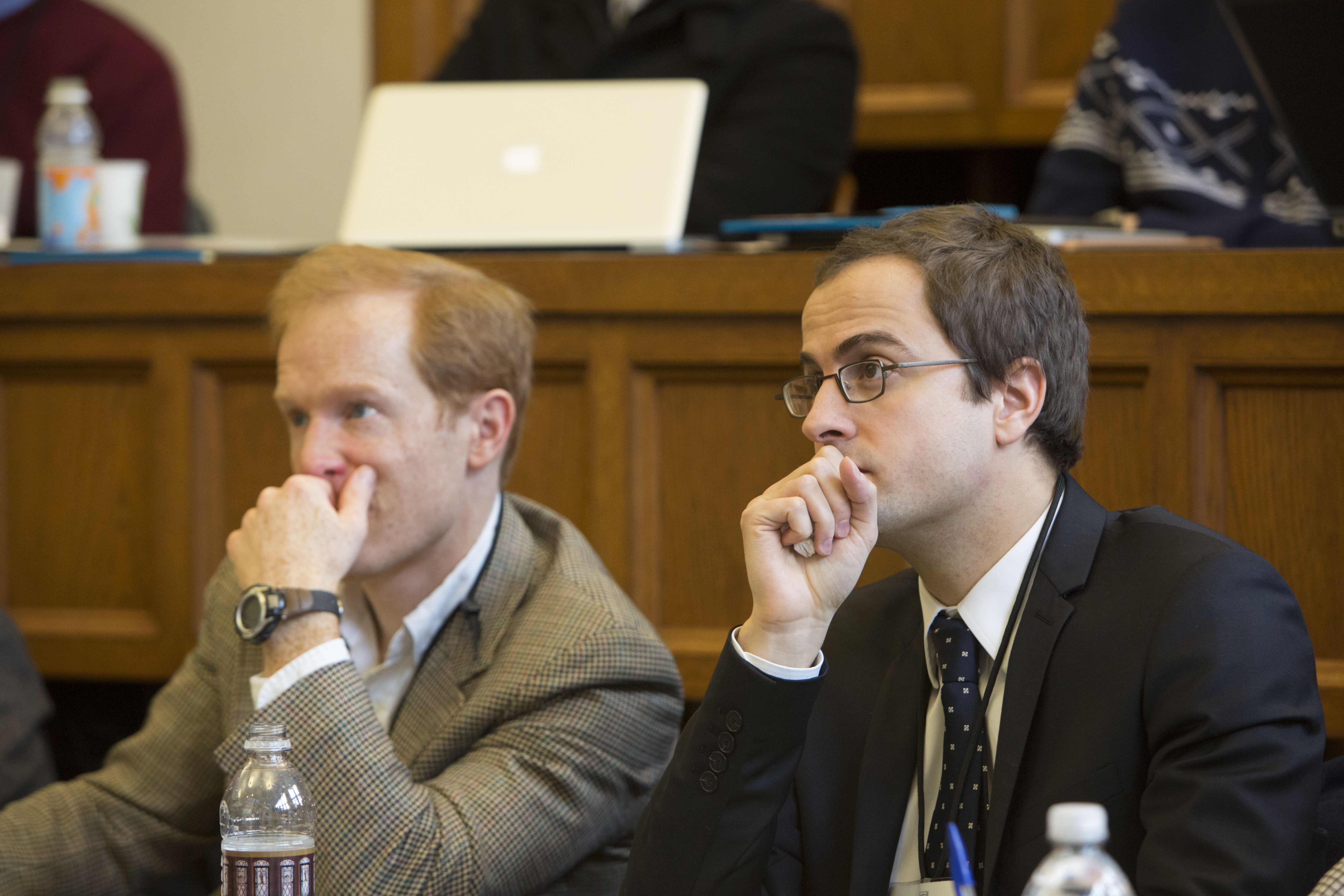 Texas Law Prof. Abraham Wickelgren and Florian Grisel LLM '10
