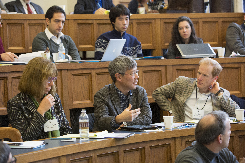 Vanderbilt Law Prof. Erin O'Hara O'Connor, George Mason Law Prof. Bruce Kobayashi, and Texas Law Prof. Abraham Wickelgren