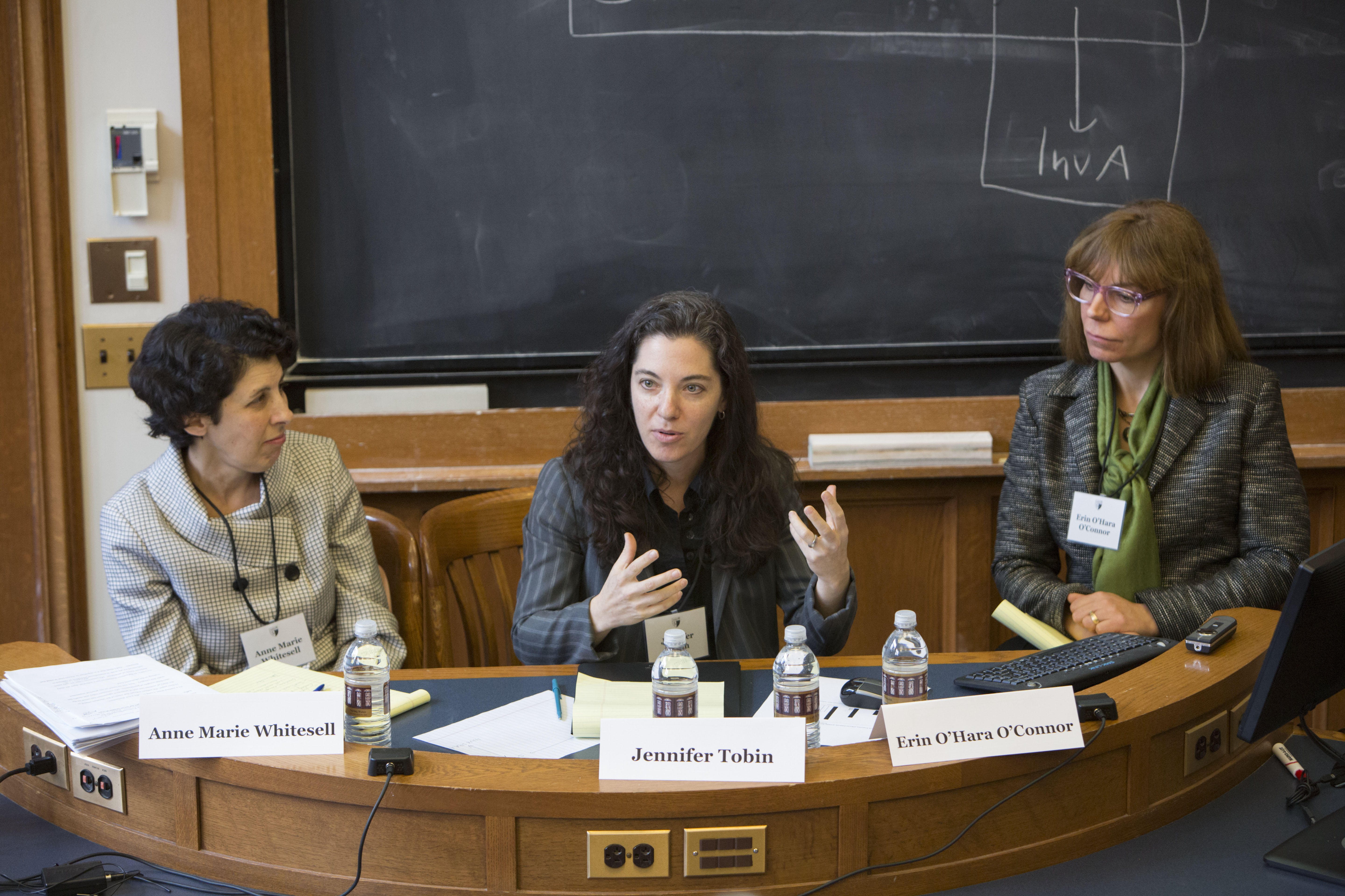 Anne Marie Whitesell, Georgetown Public Policy Prof. Jennifer Tobin, and Vanderbilt Law Prof. Erin O'Hara O'Connor