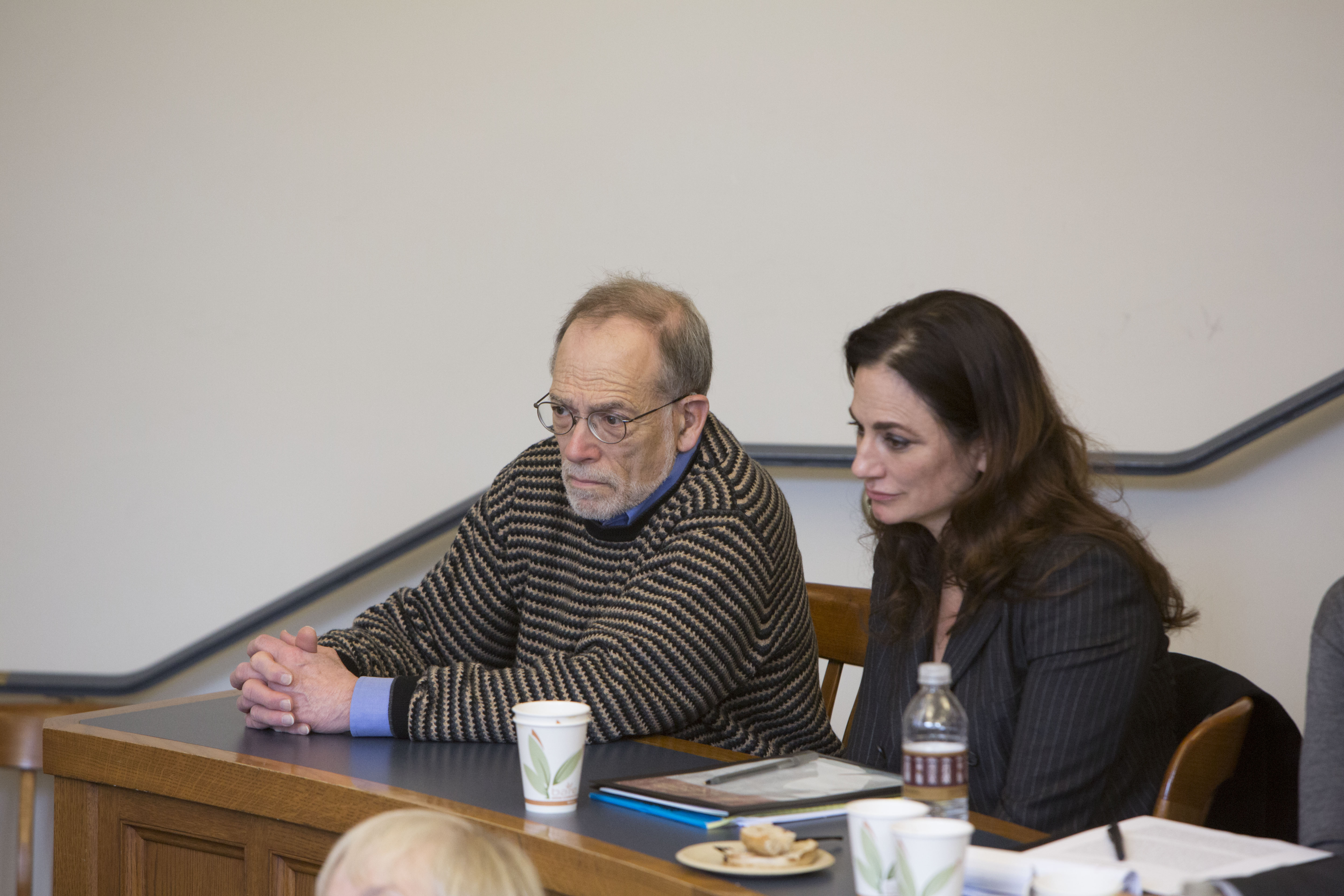 YLS Prof. Al Klevorick and Penn State Law Prof. Catherine Rogers