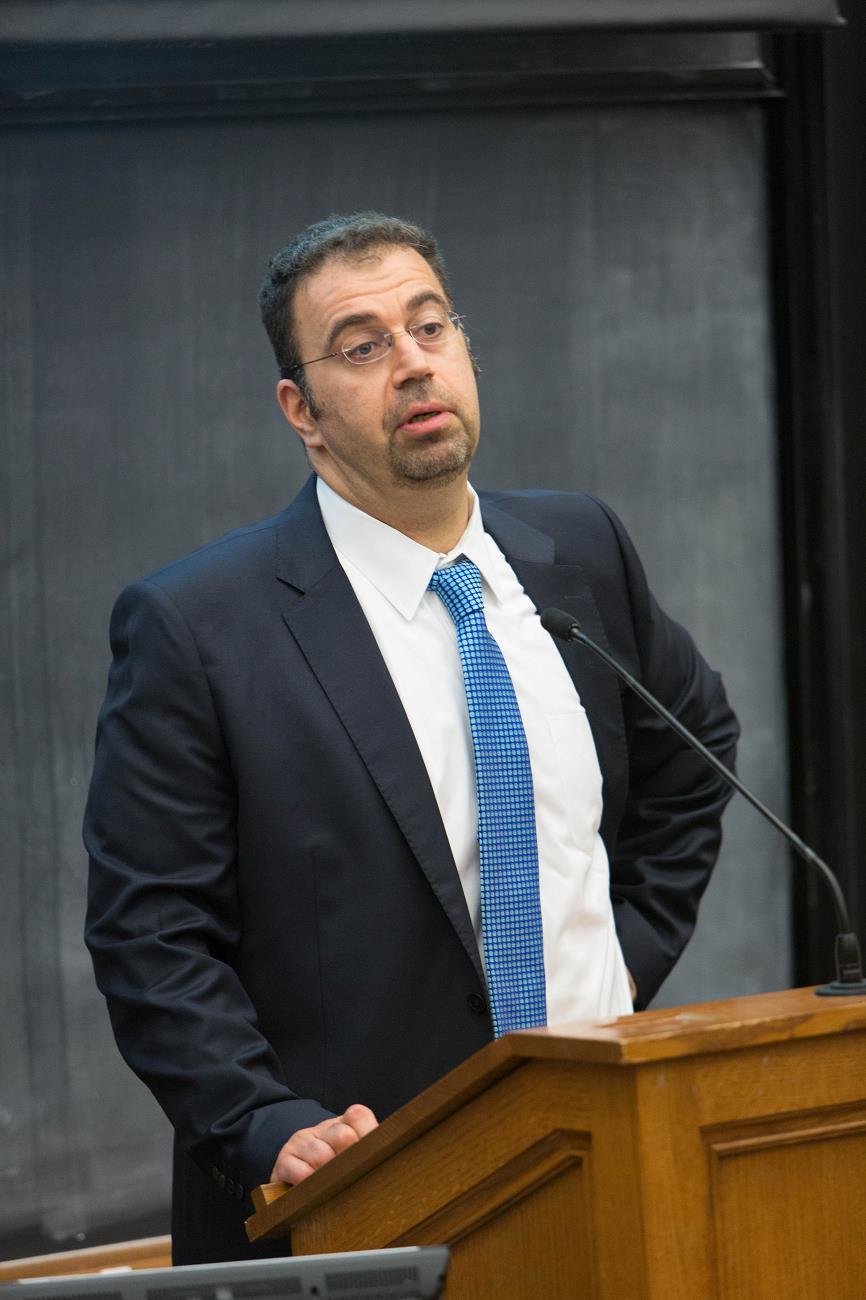 MIT Econ. Prof. Daron Acemoglu