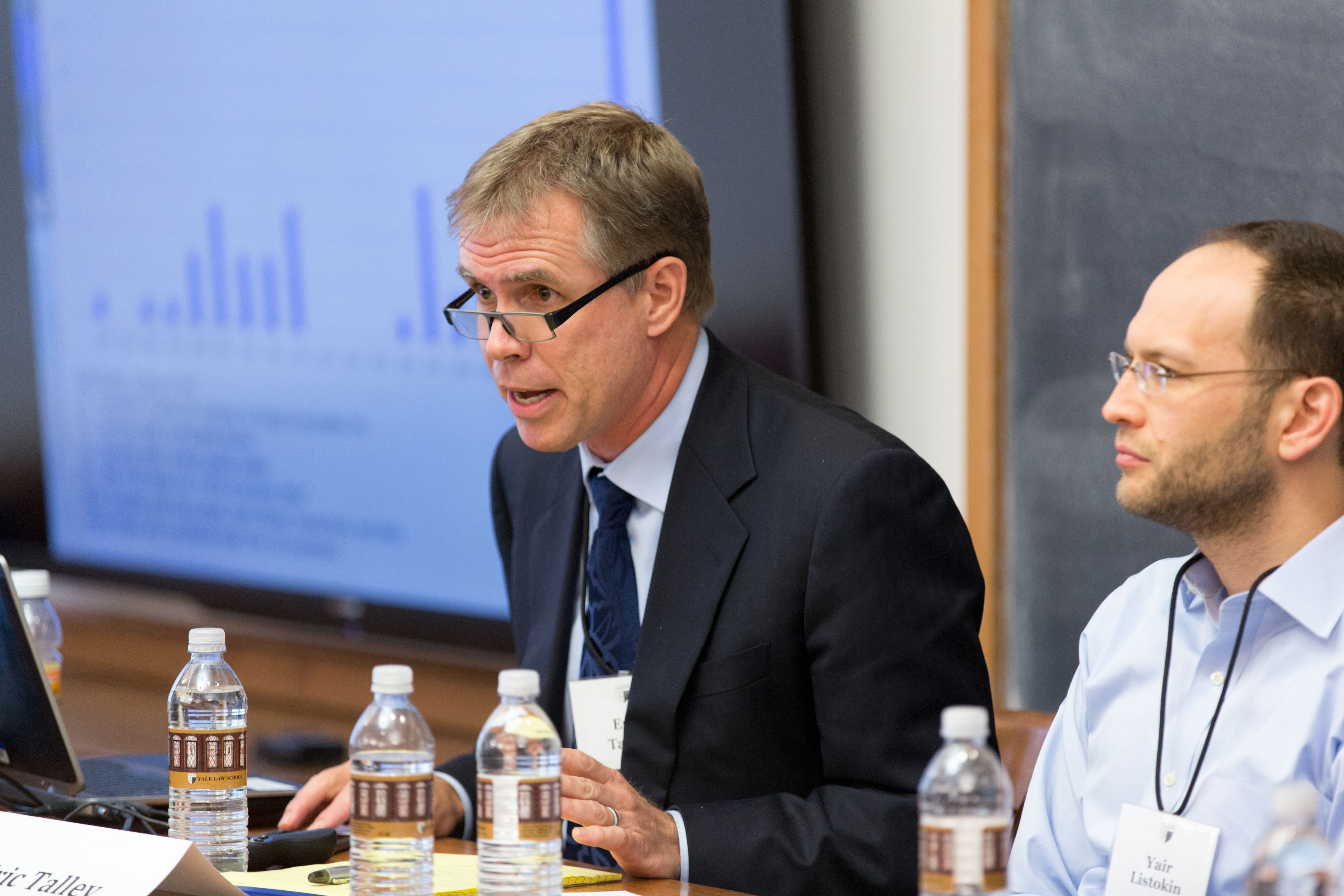 Berkeley Law Prof. Eric Talley and YLS Prof. Yair Listokin '06