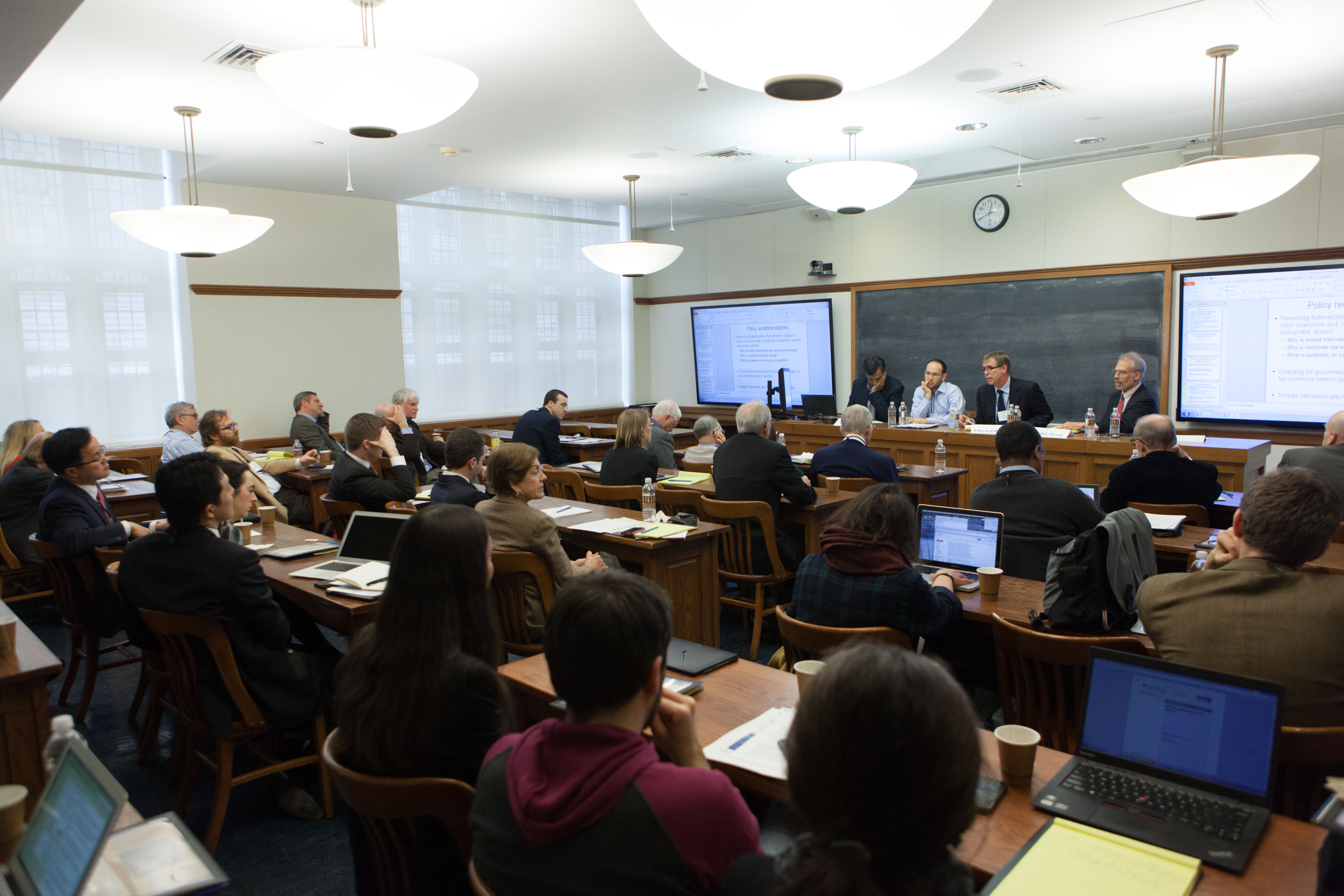 Audience at the 2015 Weil Roundtable
