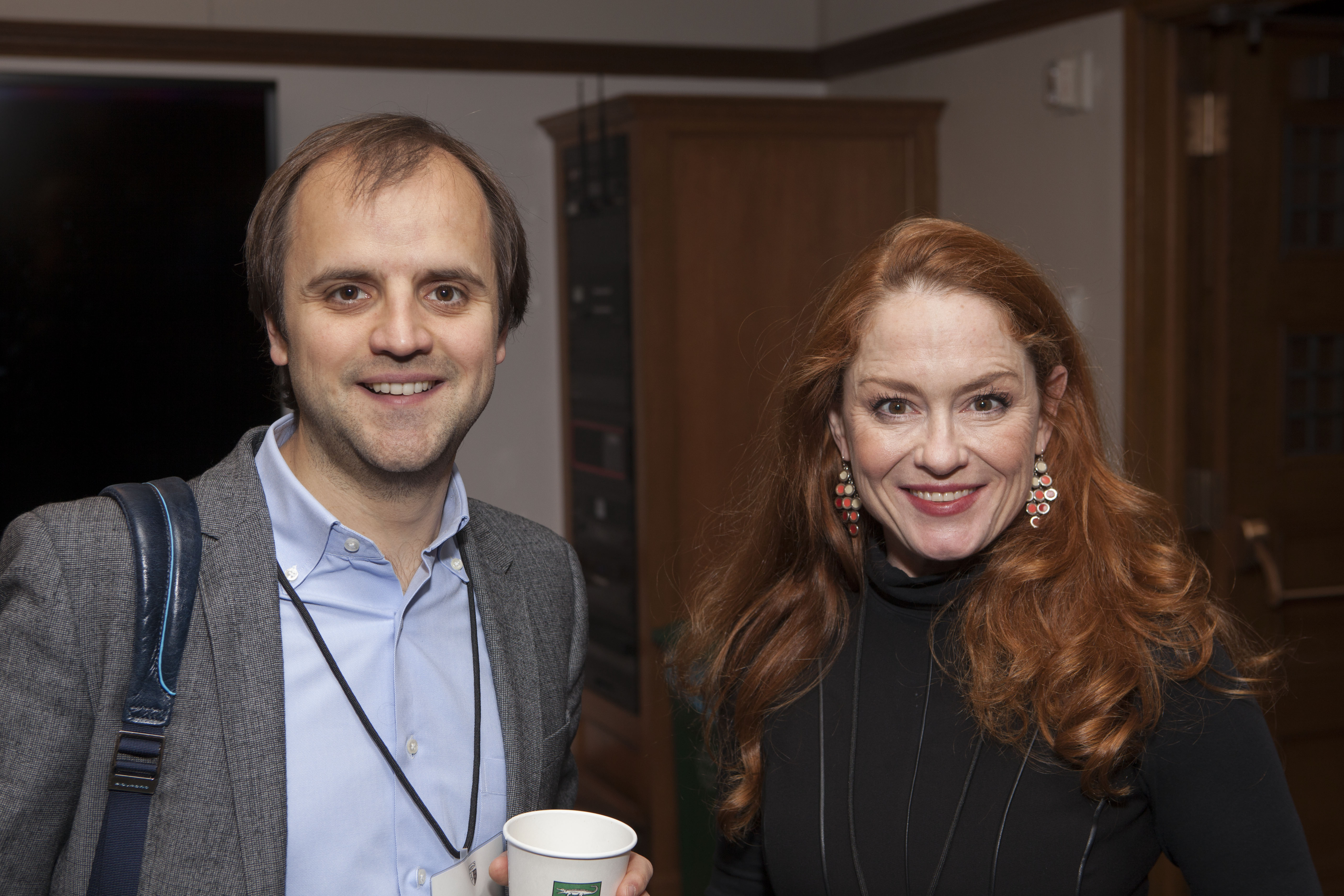 MIT Sloan Prof. Christian Catalini and Nina Kilbride