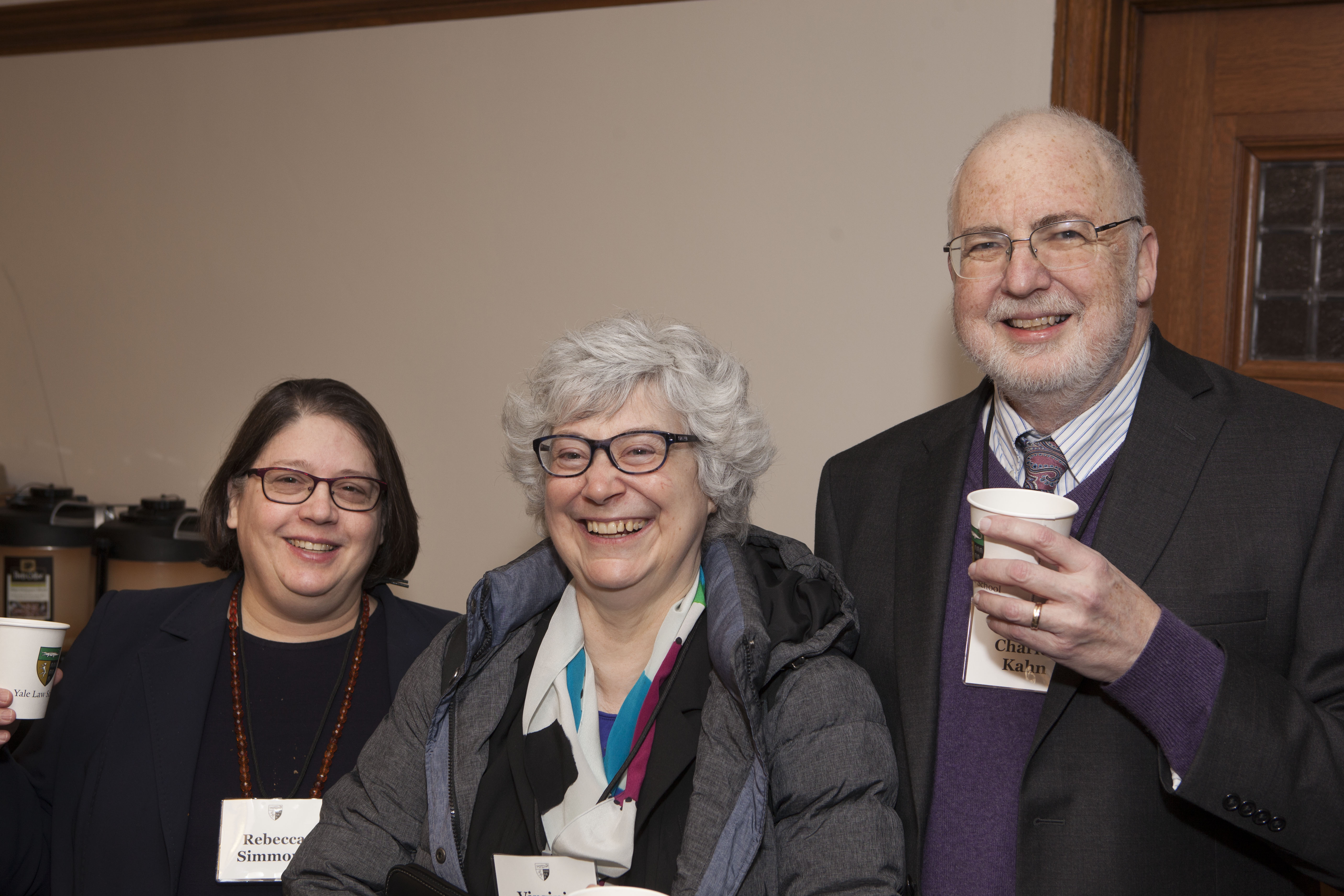 Rebecca Simmons and U. of Illinois at Urbana-Champagne Finance Profs. Virginia Grace France and Charles Kahn