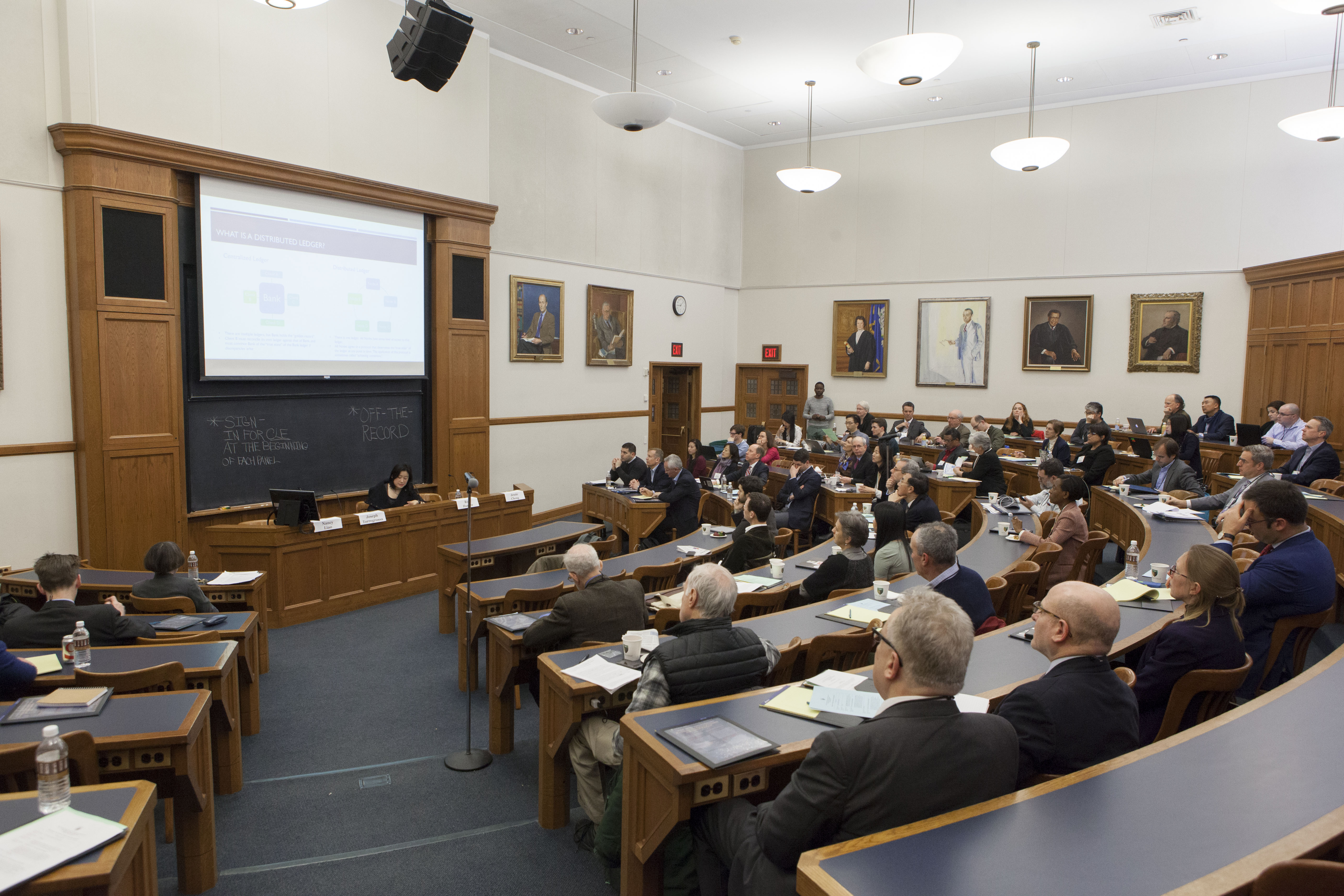 Audience at the 2017 Roundtable