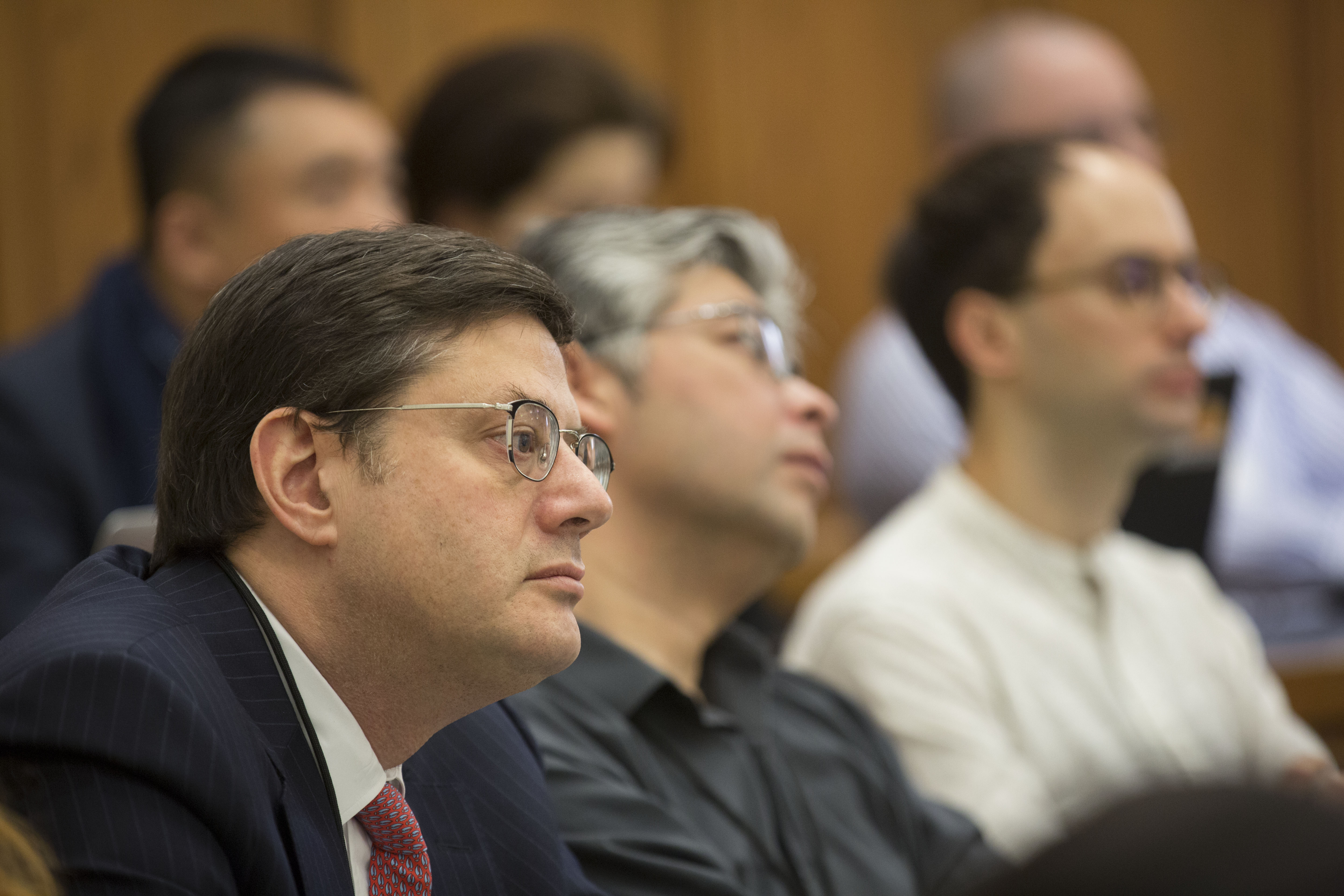 Stewart Kagan '85 (foreground)