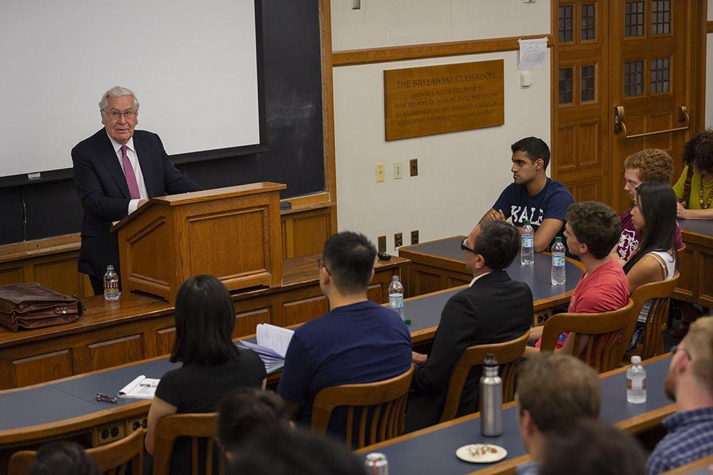 NYU Stern Econ. Prof. Lord Mervyn King
