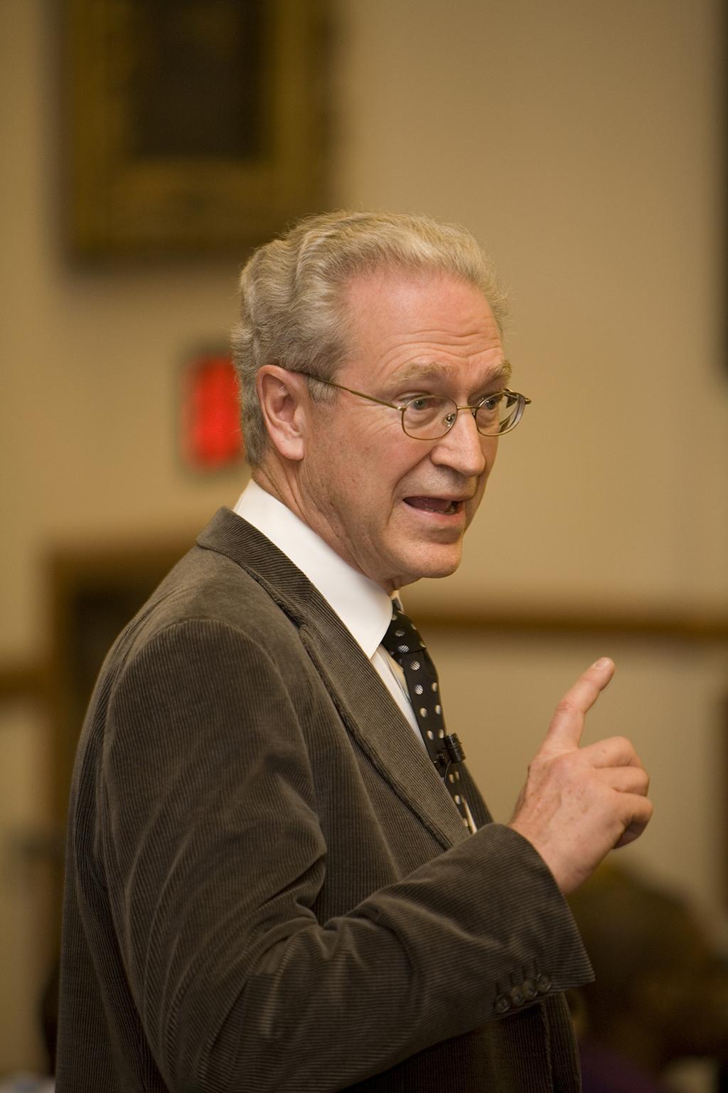 Harvard Business Emeritus Prof. Michael Jenson
