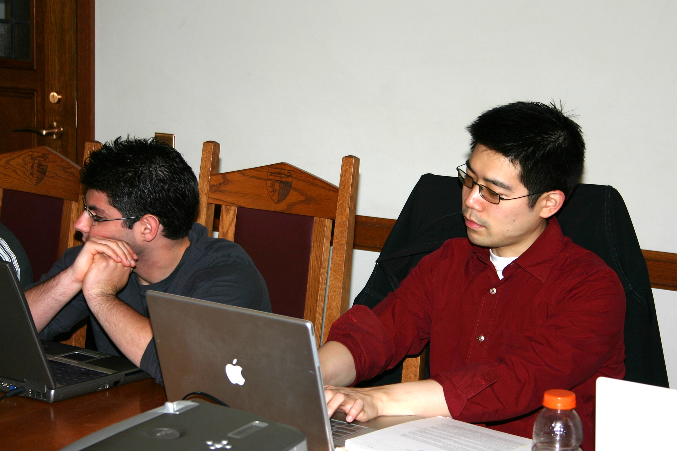 Steven Winter '08 and Andrew Park '08