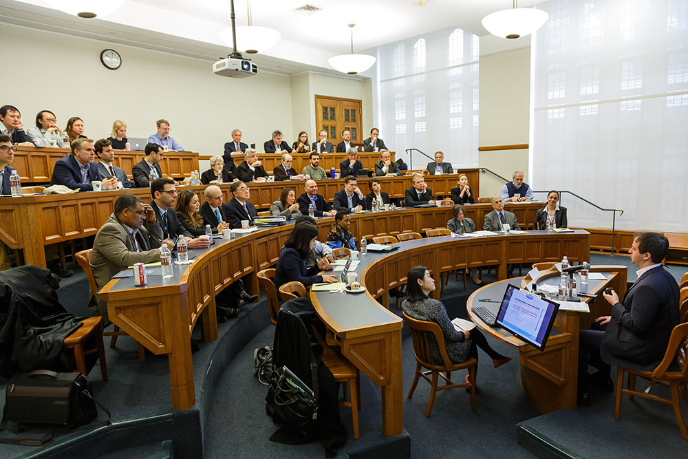 Audience at the 2018 Roundtable