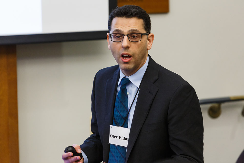 Duke Law Prof. Ofer Eldar JSD '14