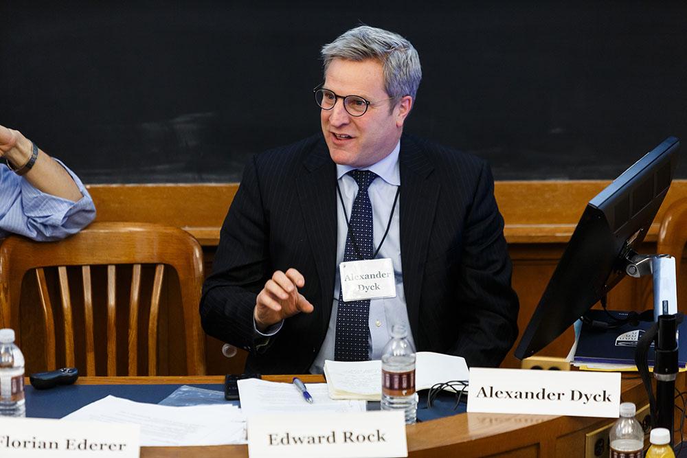 U. of Toronto Rotman Prof. Alexander Dyck