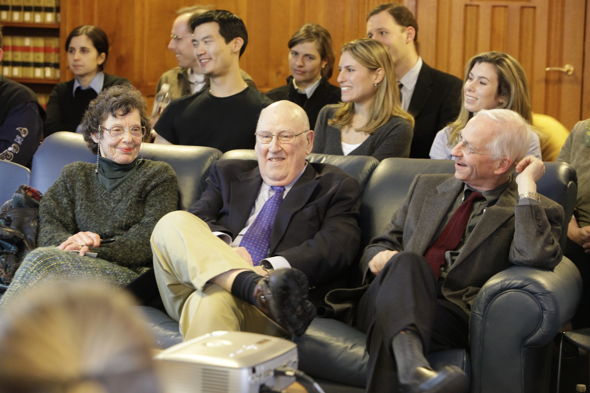 Judge Ralph Winter '60 and YLS Prof. Alan Schwartz '67