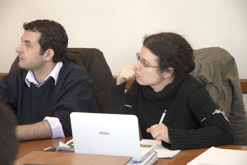Alexander Aizenstatd LLM '09 and Stephanie Feinberg LLM '09