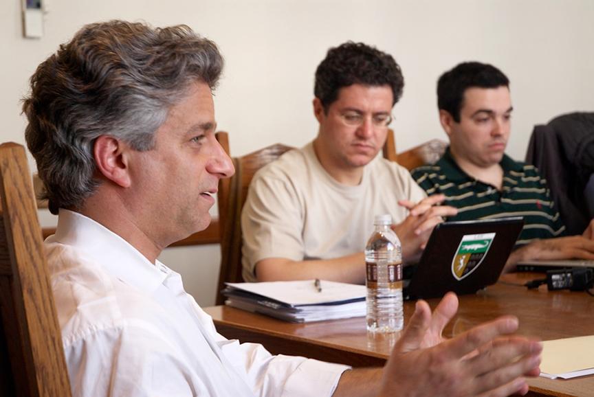 Joseph Ravitch '88, Ivan Ribeiro LLM '09, and Zachary Podolsky '11
