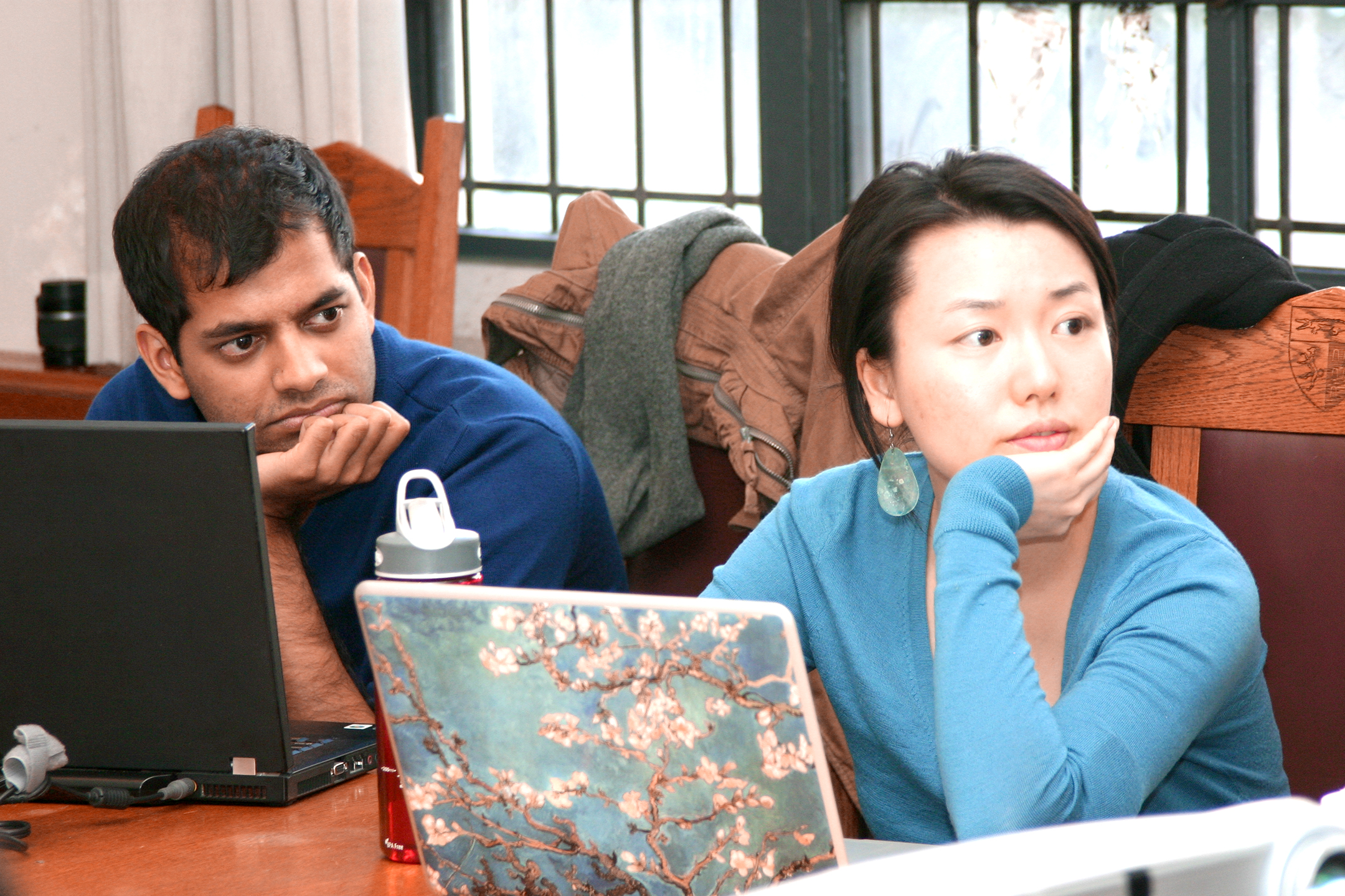 Krishna Rao '11 and Lang Liu '11