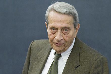 Colloquium honoree Marvin Chirelstein