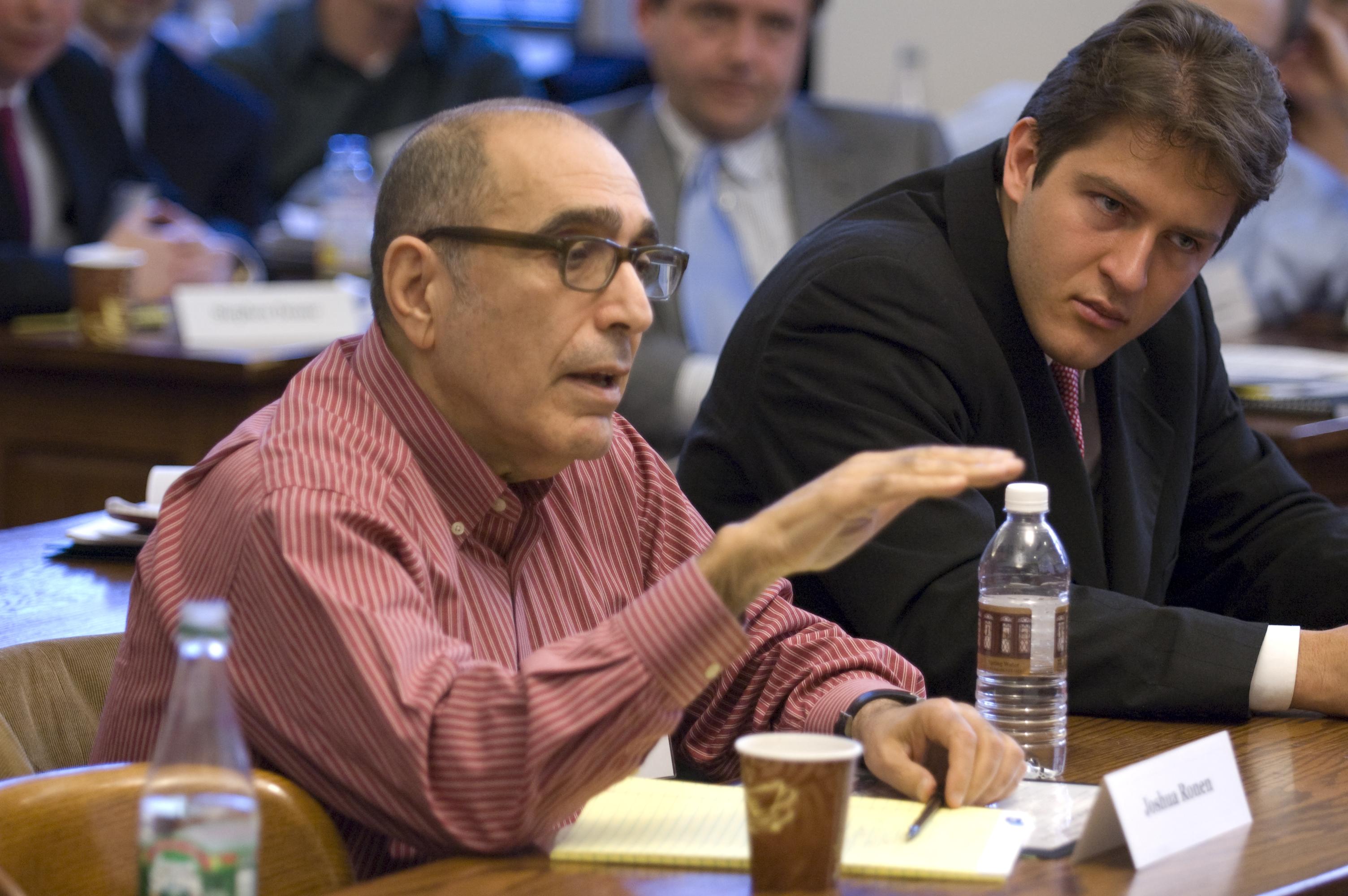 NYU Stern Prof. Joshua Ronen and Miguel Kreling LLM '07